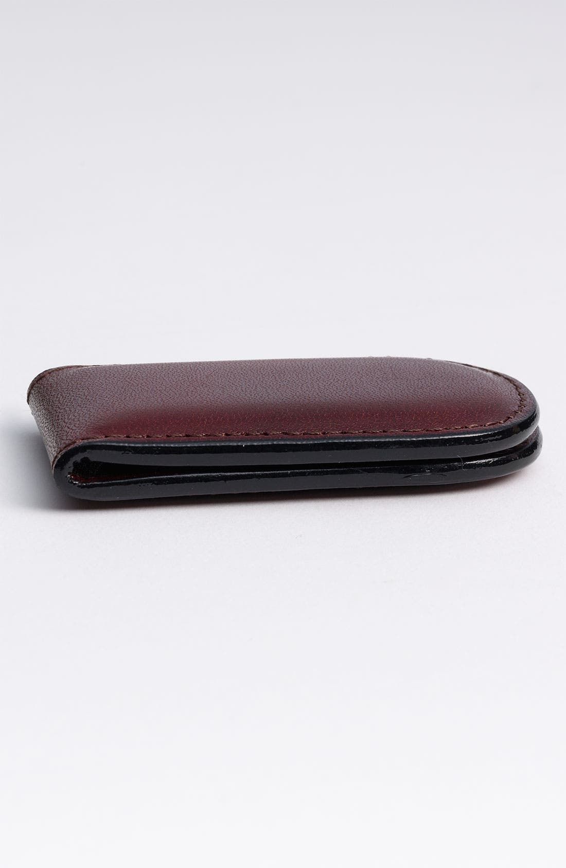 Alternate Image 2  - Bosca Leather Money Clip