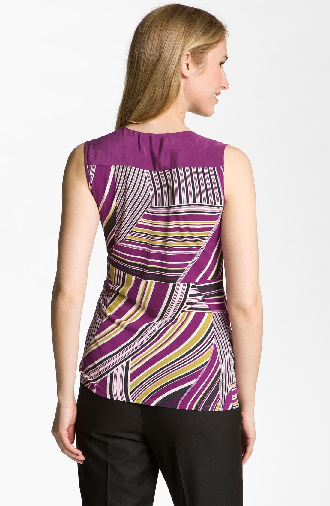 Alternate Image 2  - Classiques Entier® 'Nouveau' Drape Neck Jersey Top
