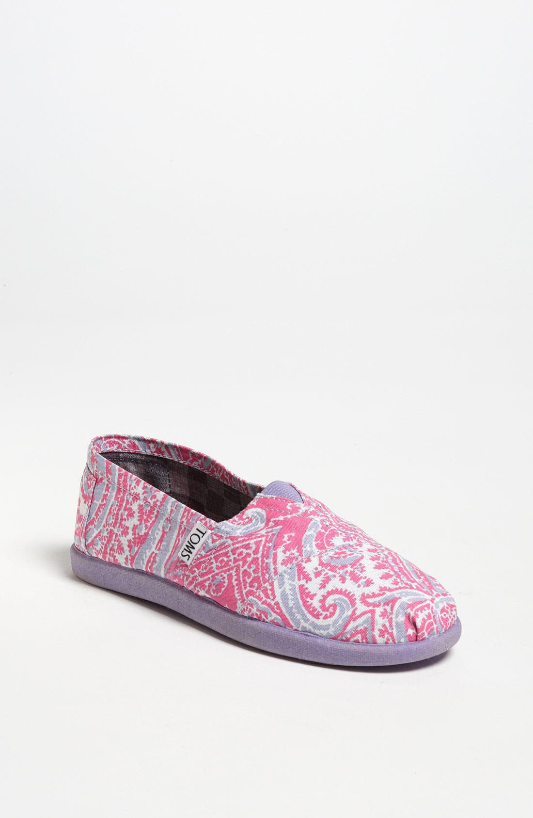 Main Image - TOMS 'Classic Youth - Paisley' Slip-On (Toddler, Little Kid & Big Kid)