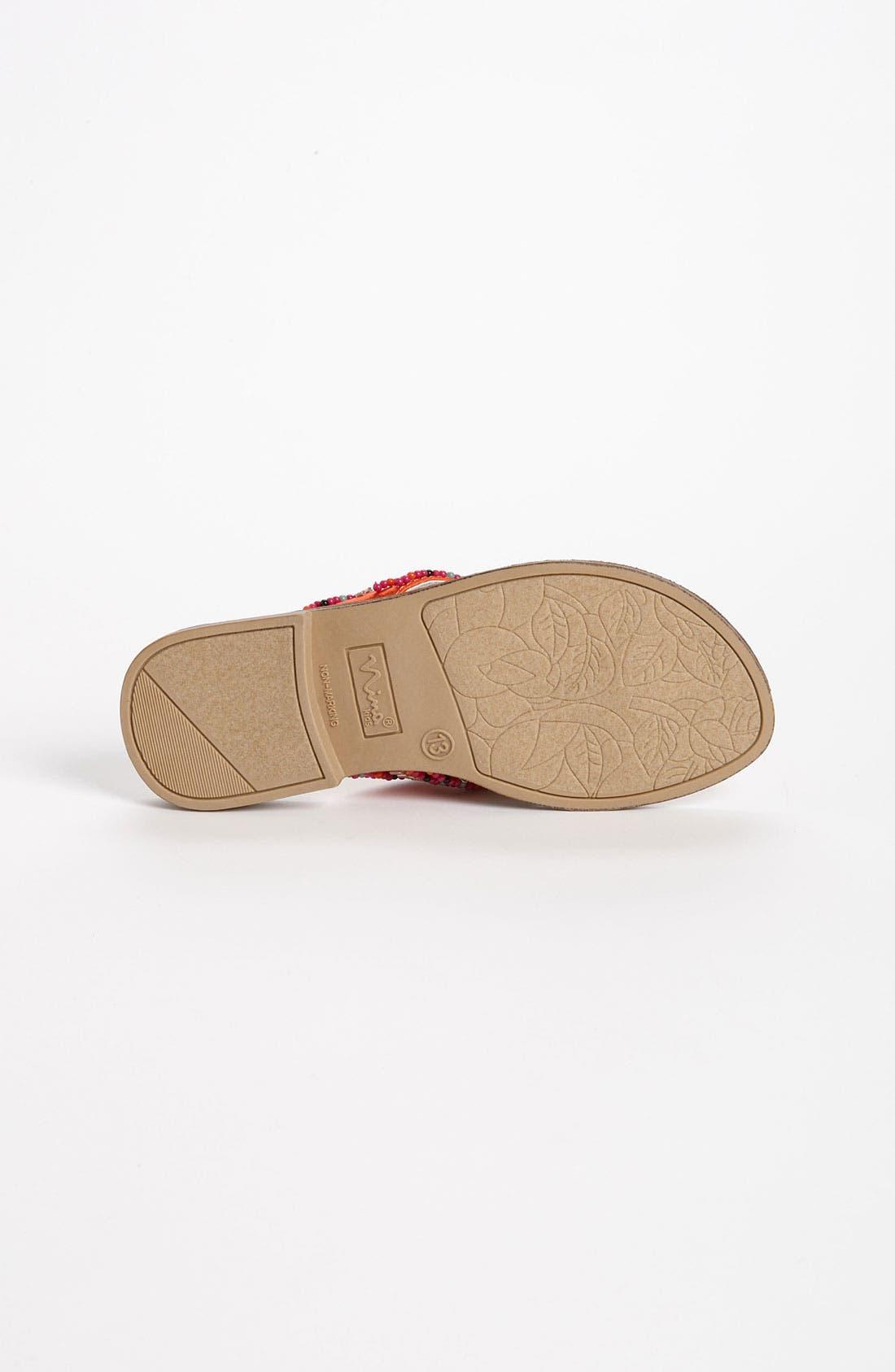 Alternate Image 4  - Nina 'Neviah' Sandal (Toddler, Little Kid & Big Kid)