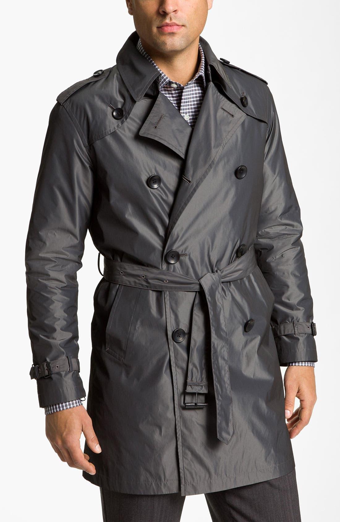 Main Image - John Varvatos 'Splash' Raincoat