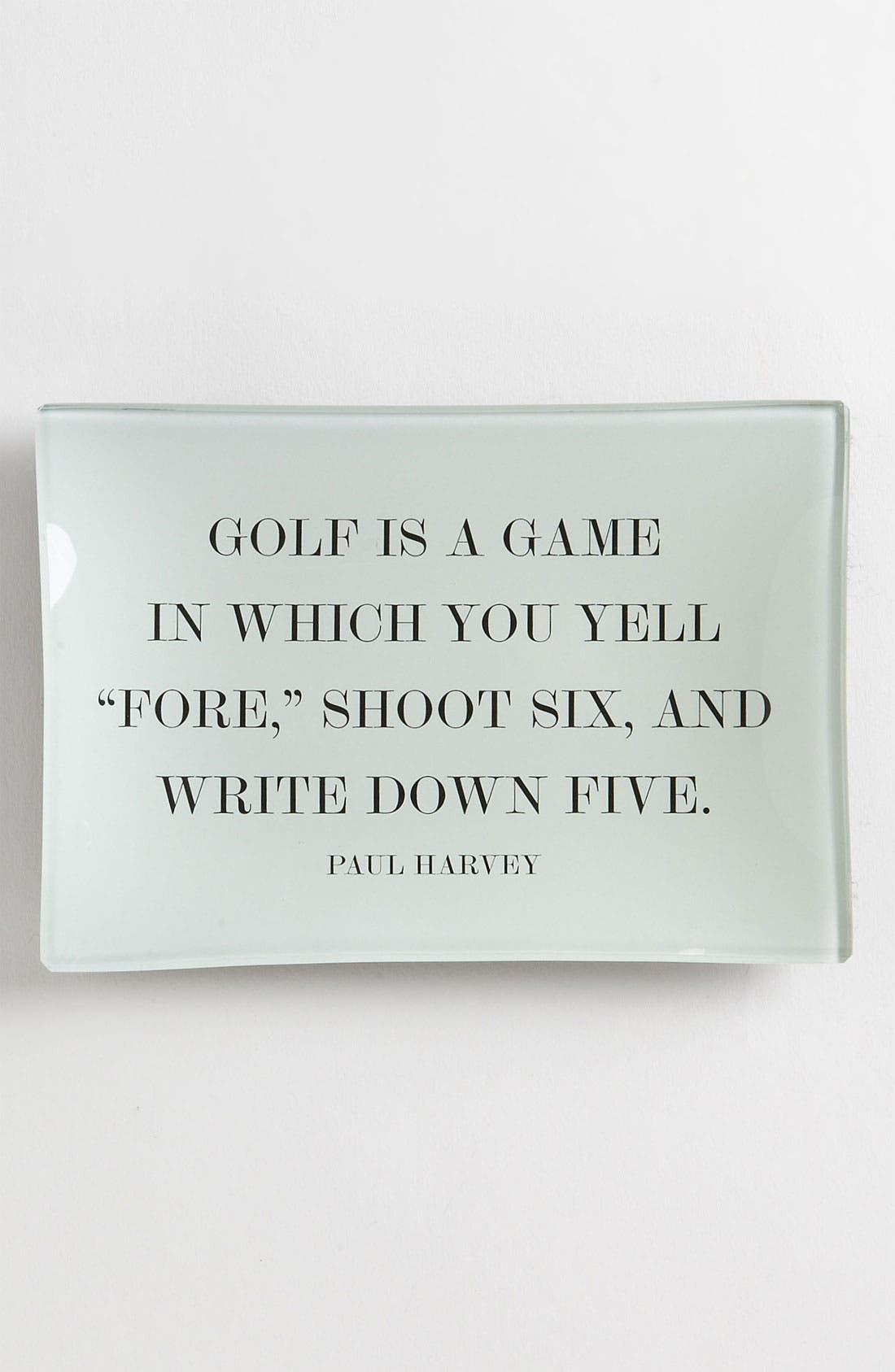 Alternate Image 1 Selected - Ben's Garden 'Golf' Trinket Tray