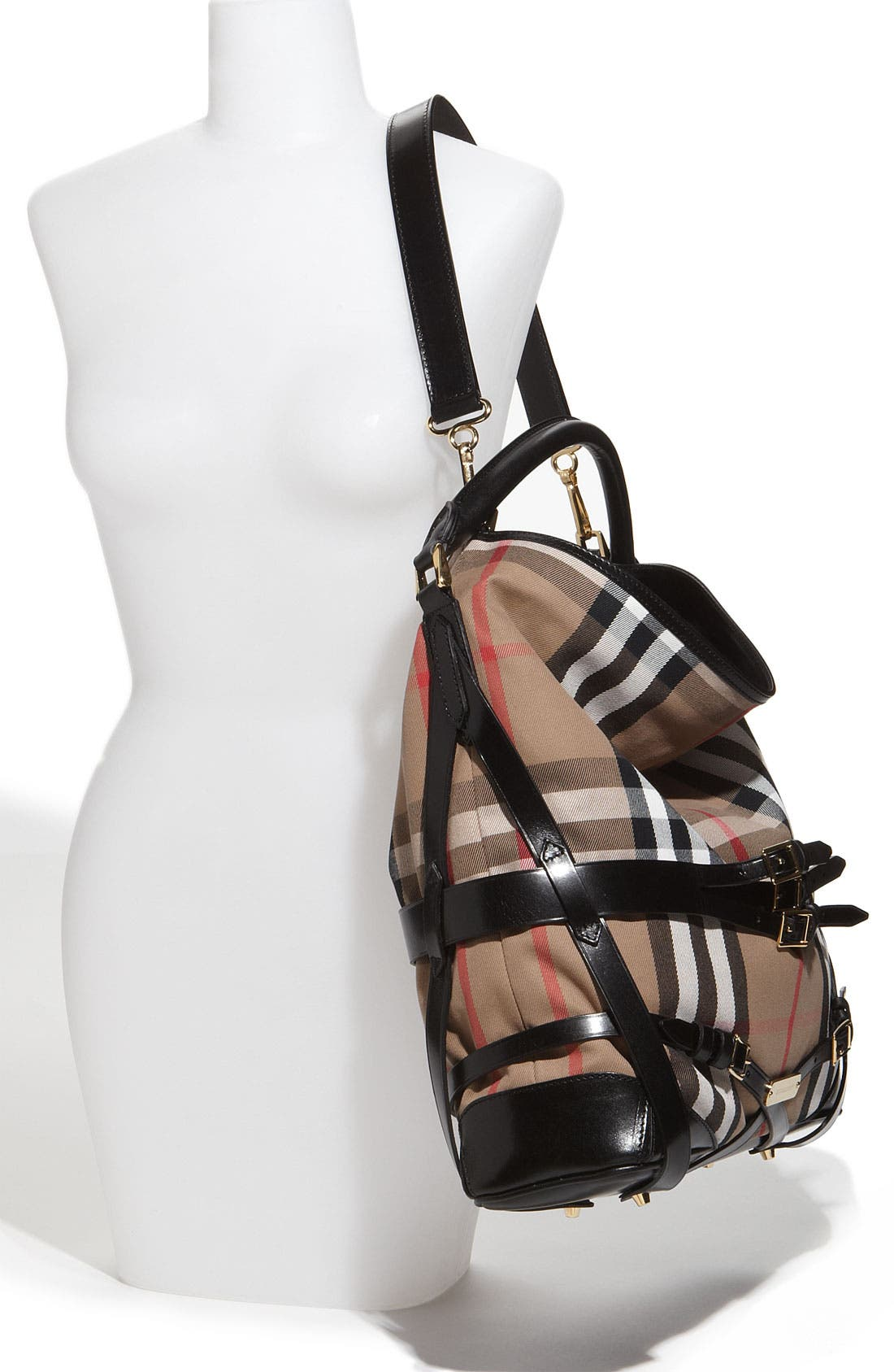 Alternate Image 2  - Burberry 'House Check' Hobo, Large