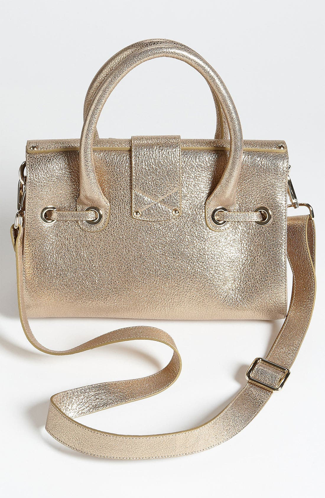 Alternate Image 4  - Jimmy Choo 'Rosalie' Glitter Leather Satchel