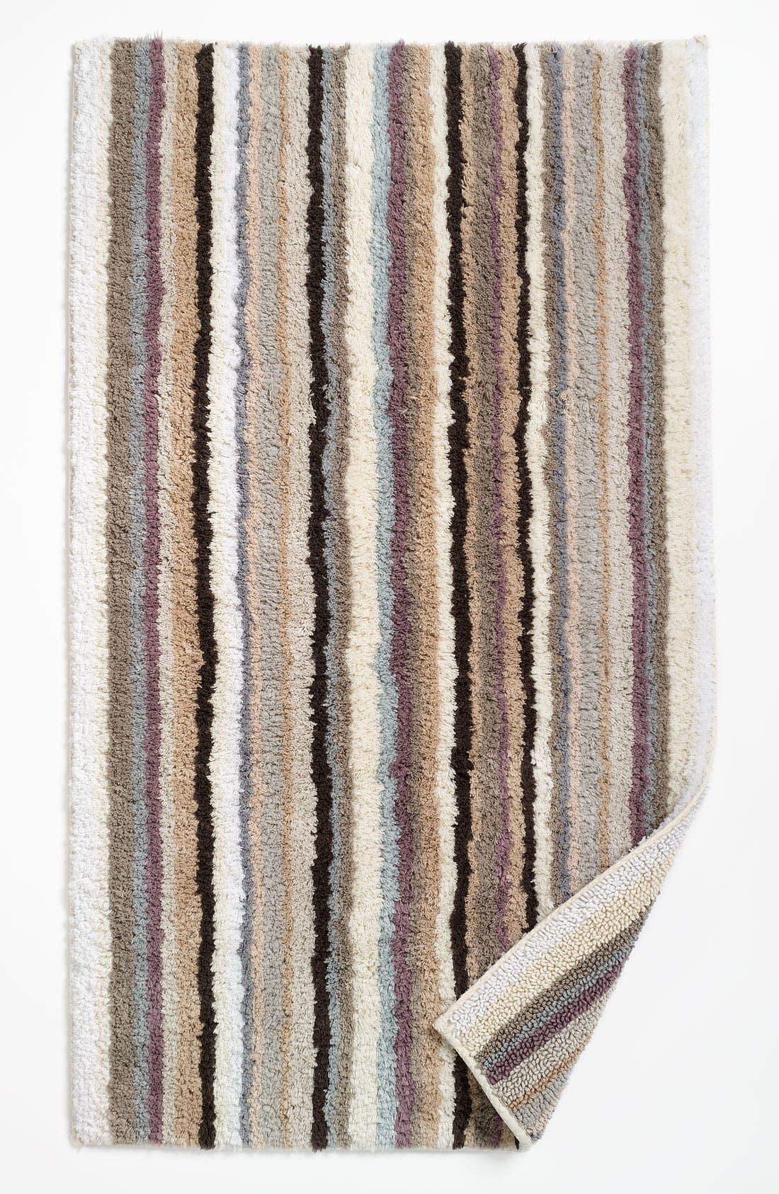 Alternate Image 1 Selected - Nordstrom at Home Stripe Cotton Bath Rug