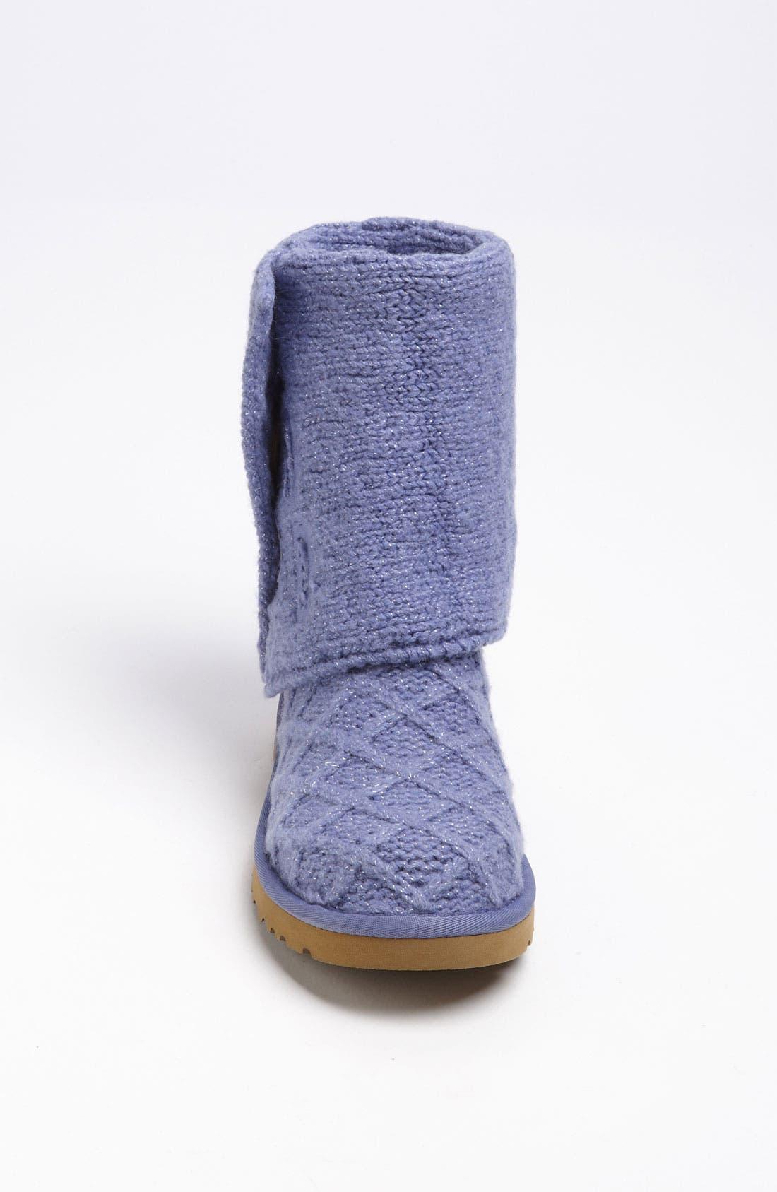 Alternate Image 4  - UGG® Australia 'Lattice Cardy' Boot