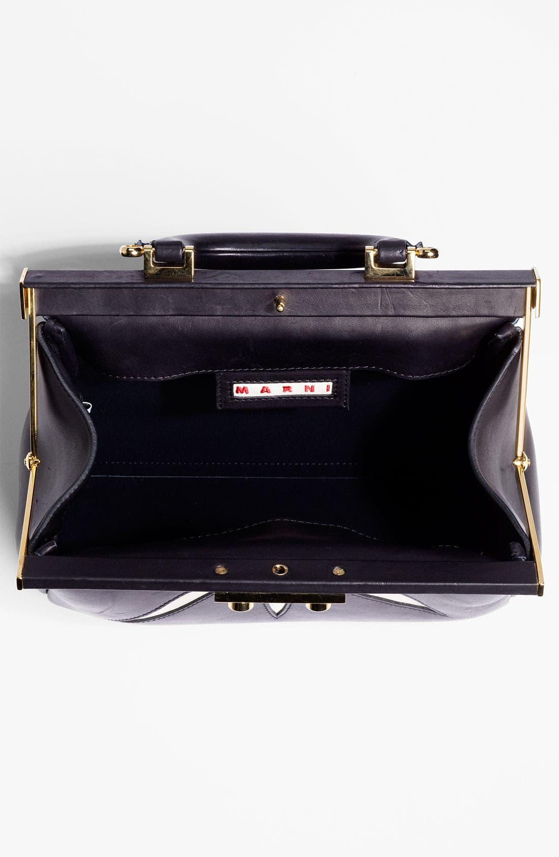 Alternate Image 3  - Marni 'Mini' Leather Frame Bag