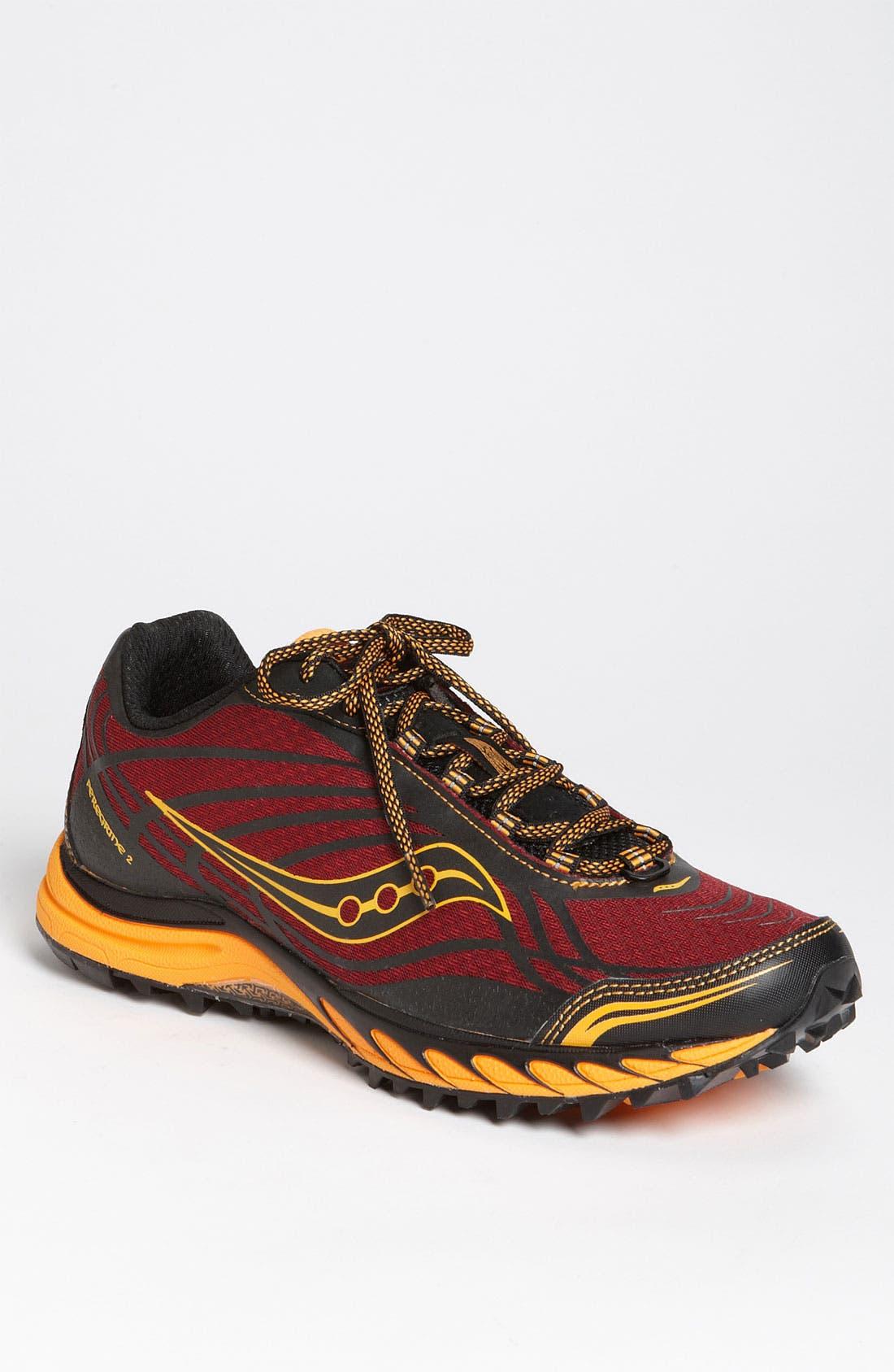 Main Image - Saucony 'ProGrid Peregrine 2' Trail Running Shoe (Men)