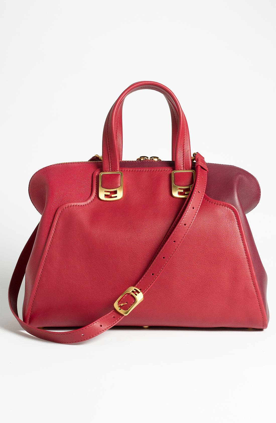 Alternate Image 4  - Fendi 'Chameleon Colorblock' Leather Tote