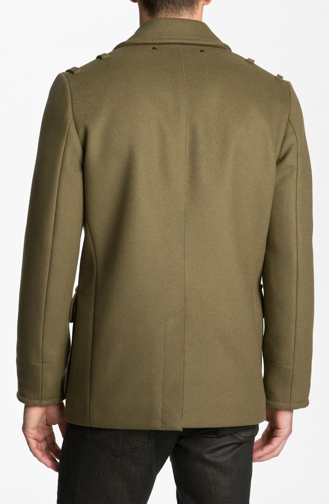 Alternate Image 2  - MARC BY MARC JACOBS 'Leo' Double Breasted Peacoat