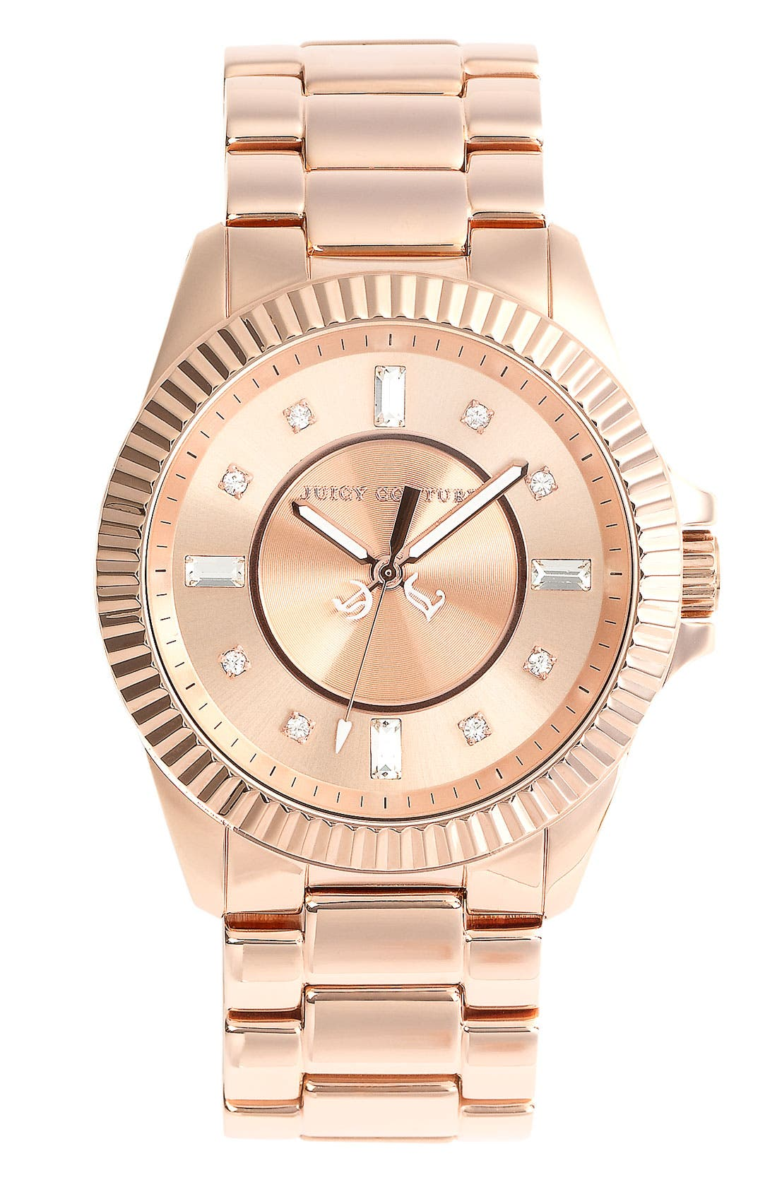 Alternate Image 1 Selected - Juicy Couture Round Bracelet Watch