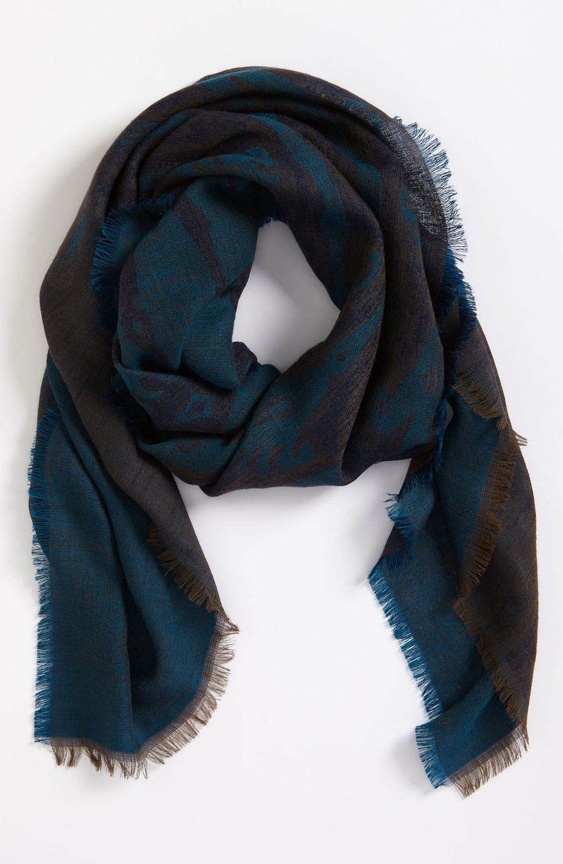 Alternate Image 1 Selected - Etro Jacquard Wool Scarf