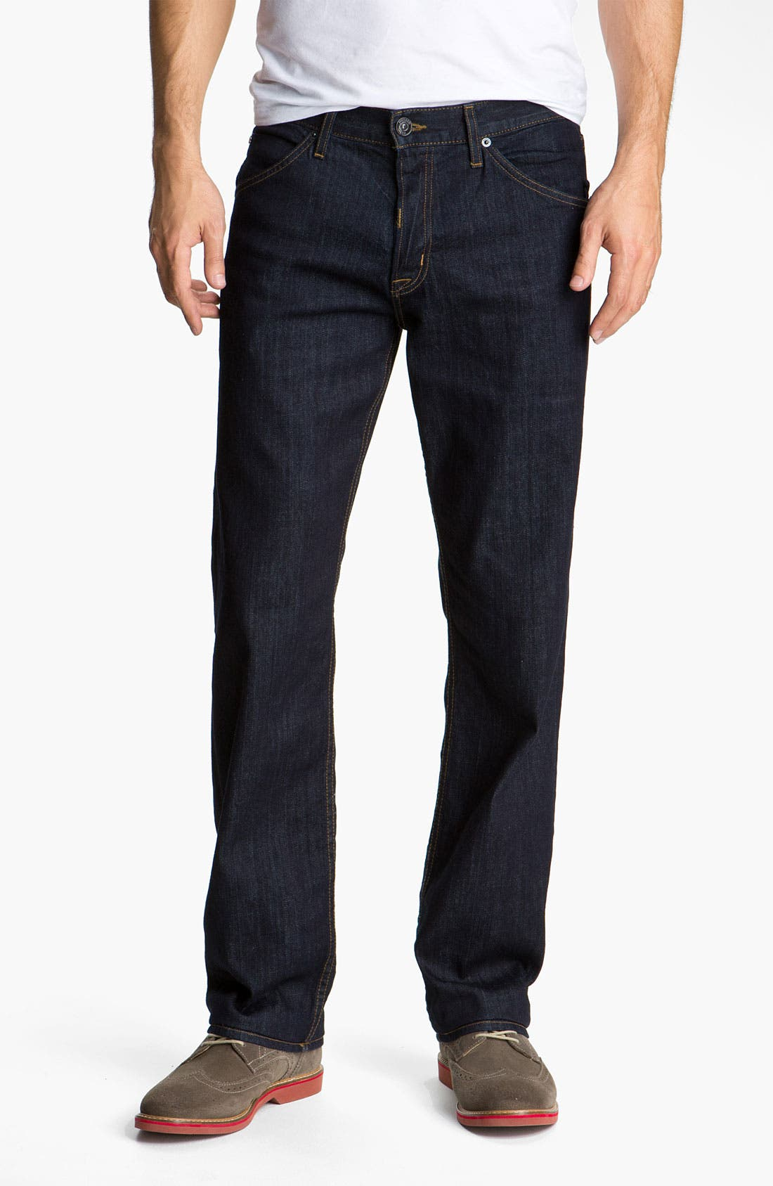 Alternate Image 2  - Hudson 'Barton' Relaxed Straight Leg Jeans (Athletics)