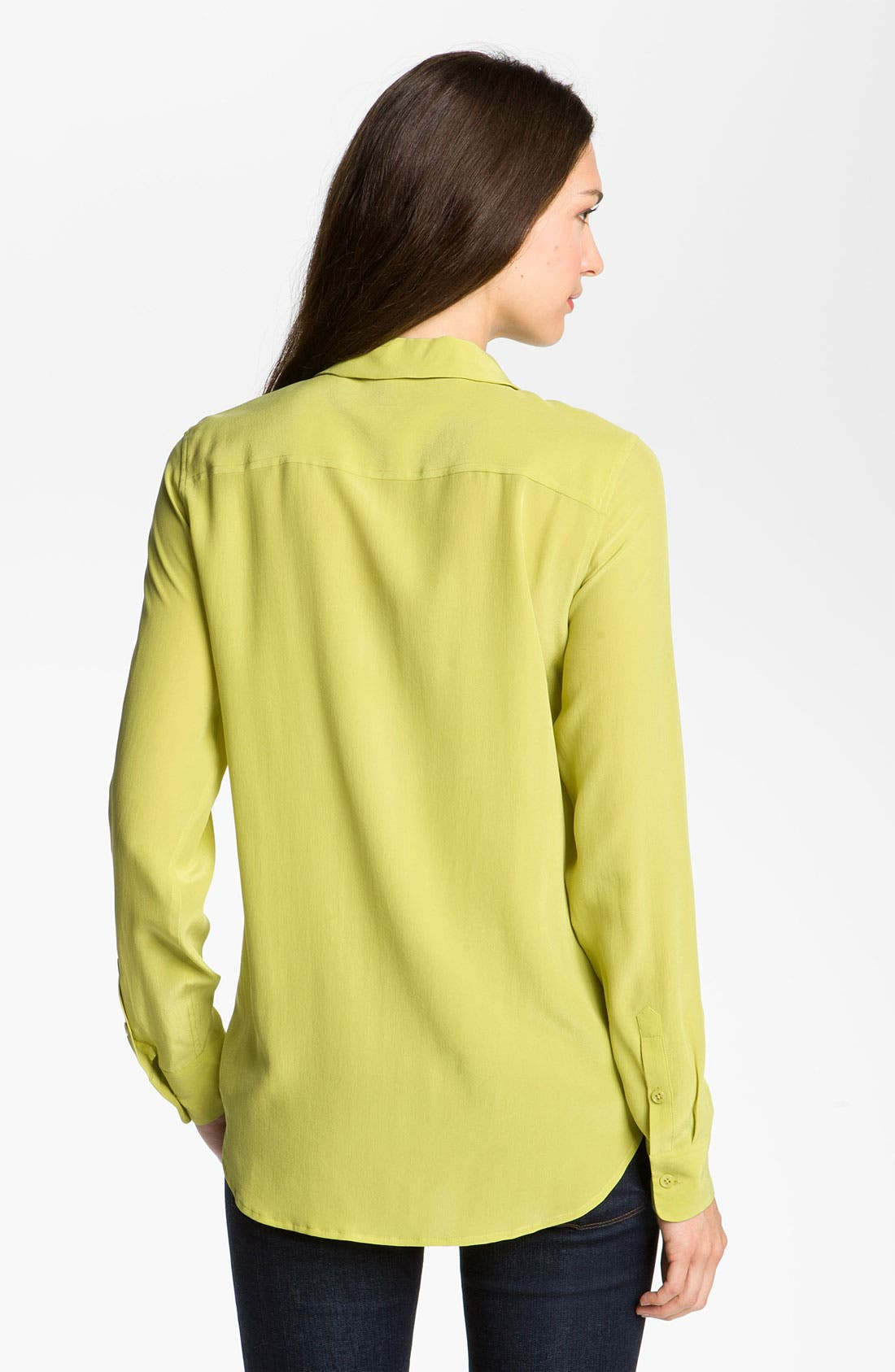 Alternate Image 2  - Equipment 'Adel' Silk Blouse