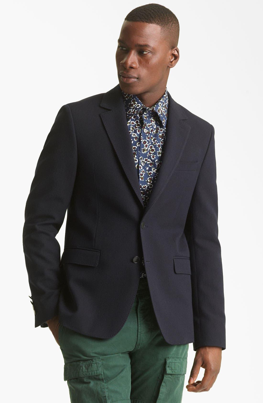 Main Image - KENZO Wool Blend Blazer