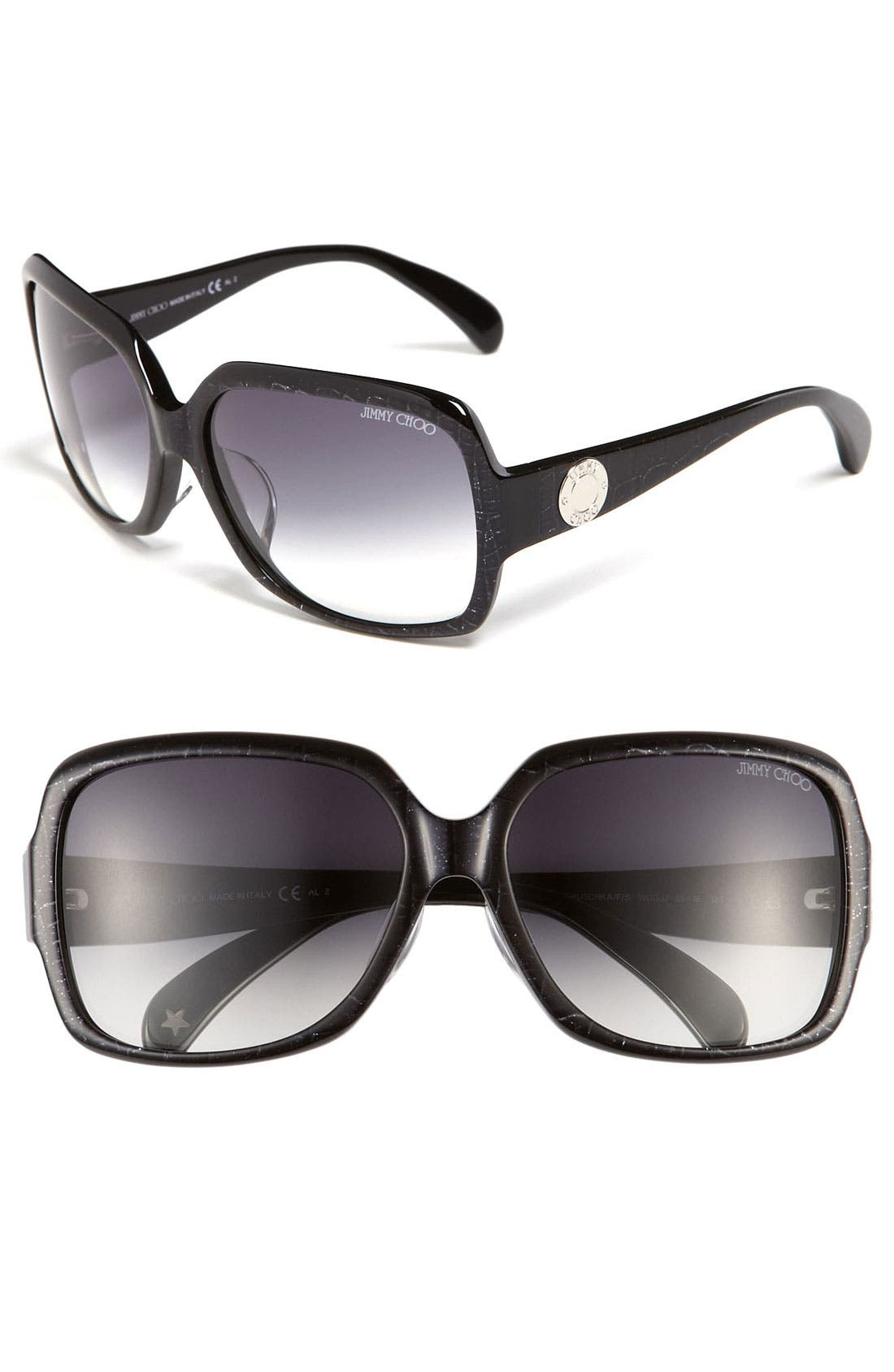Main Image - Jimmy Choo 'Veruschka - Special Fit' Sunglasses