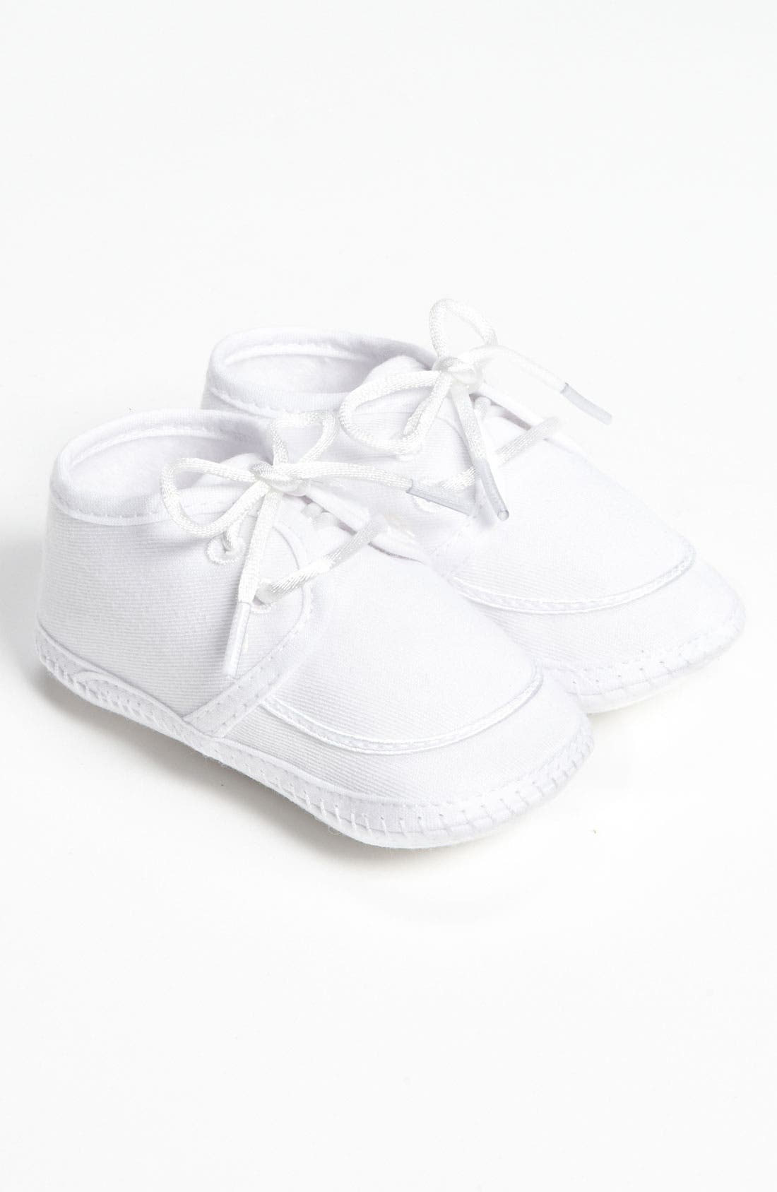 Alternate Image 1 Selected - Little Things Mean a Lot Gabardine Shoe (Baby)