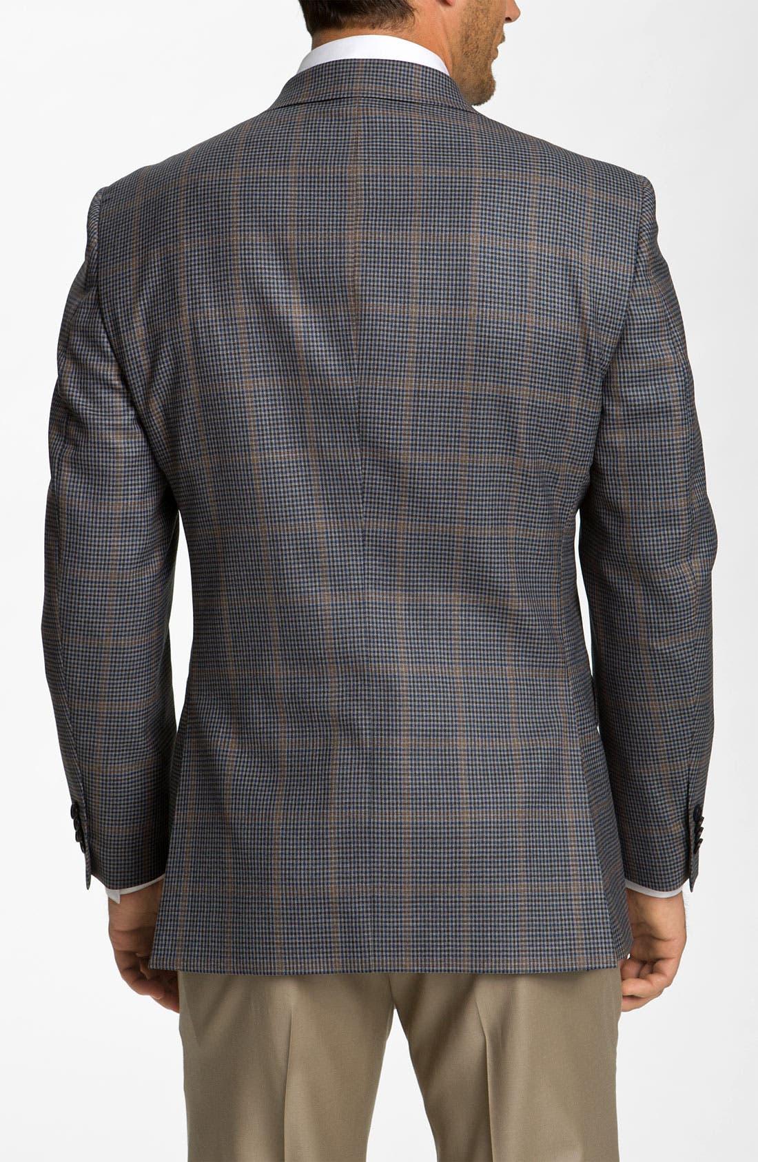 Alternate Image 2  - Di Milano Uomo Check Sportcoat