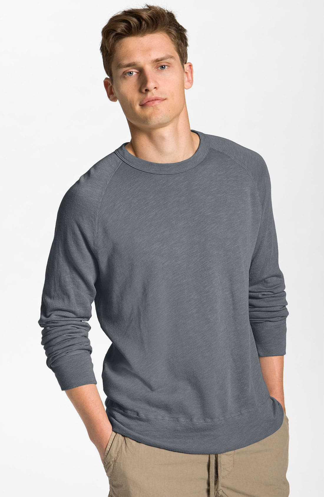 Main Image - James Perse Crewneck Sweatshirt