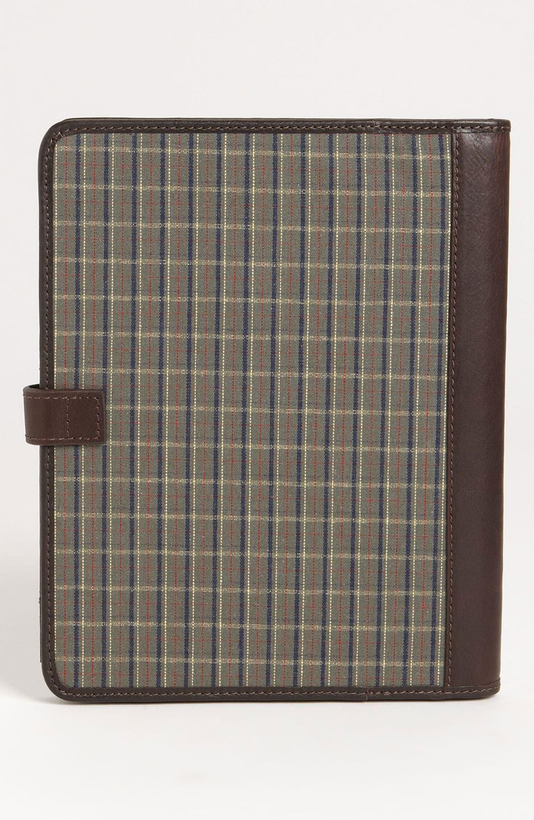 Alternate Image 4  - Fossil 'Estate' Leather & Cotton Tablet Case