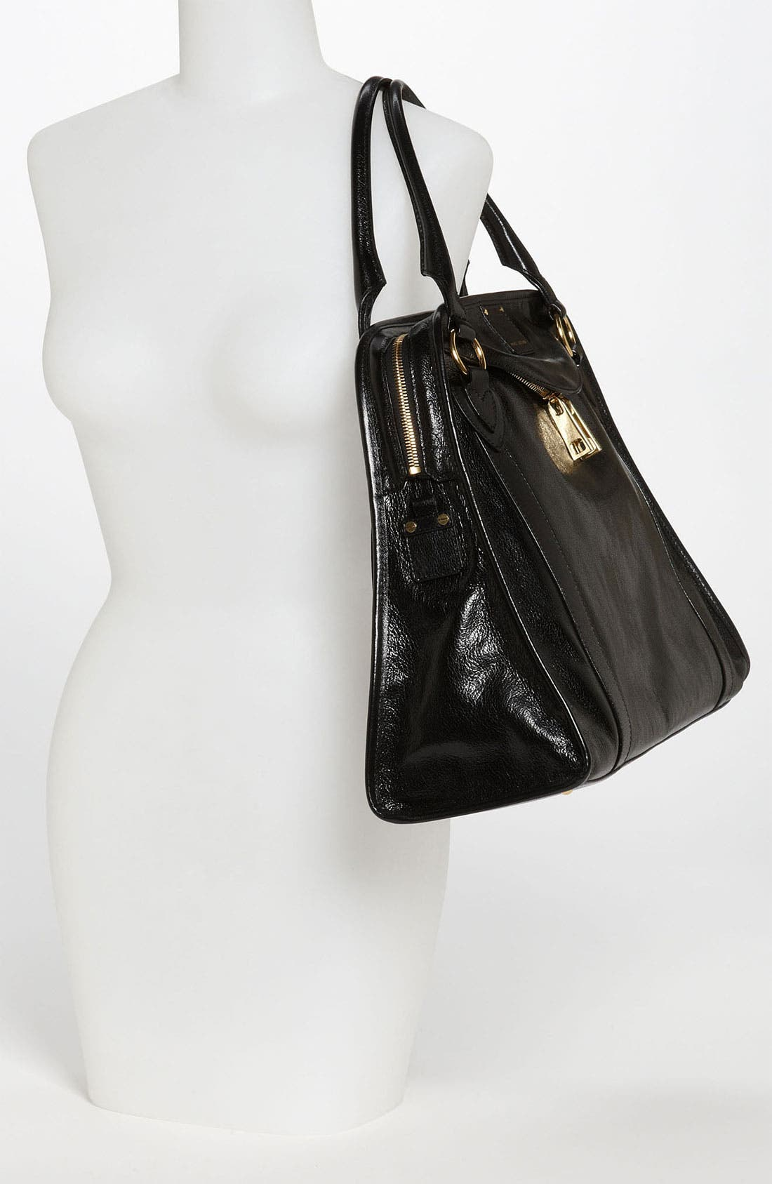 Alternate Image 2  - MARC JACOBS 'Wellington' Goatskin Leather Satchel
