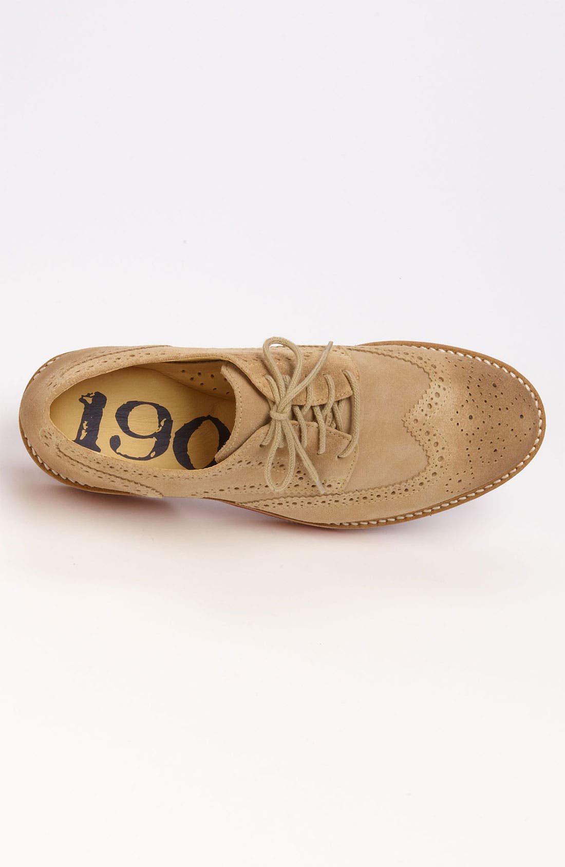 Alternate Image 3  - 1901 'Wing It' Suede Oxford