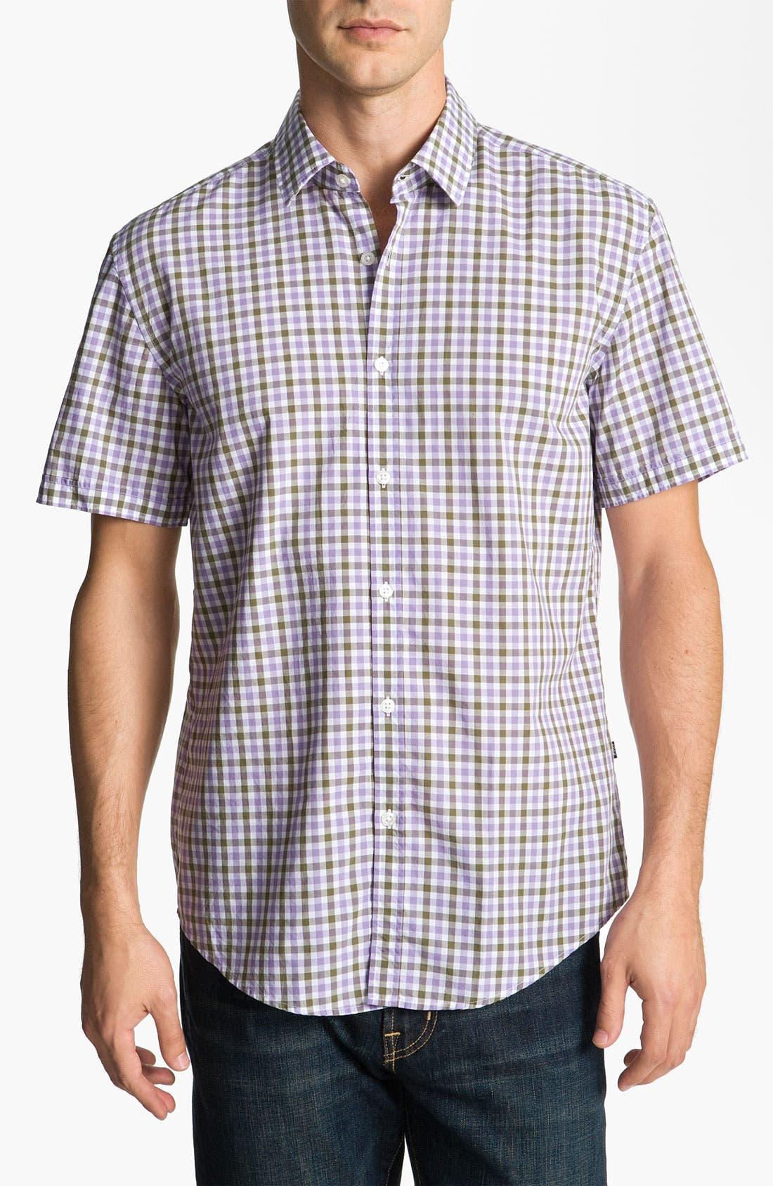 Alternate Image 1 Selected - BOSS Black 'Marc' Slim Fit Sport Shirt