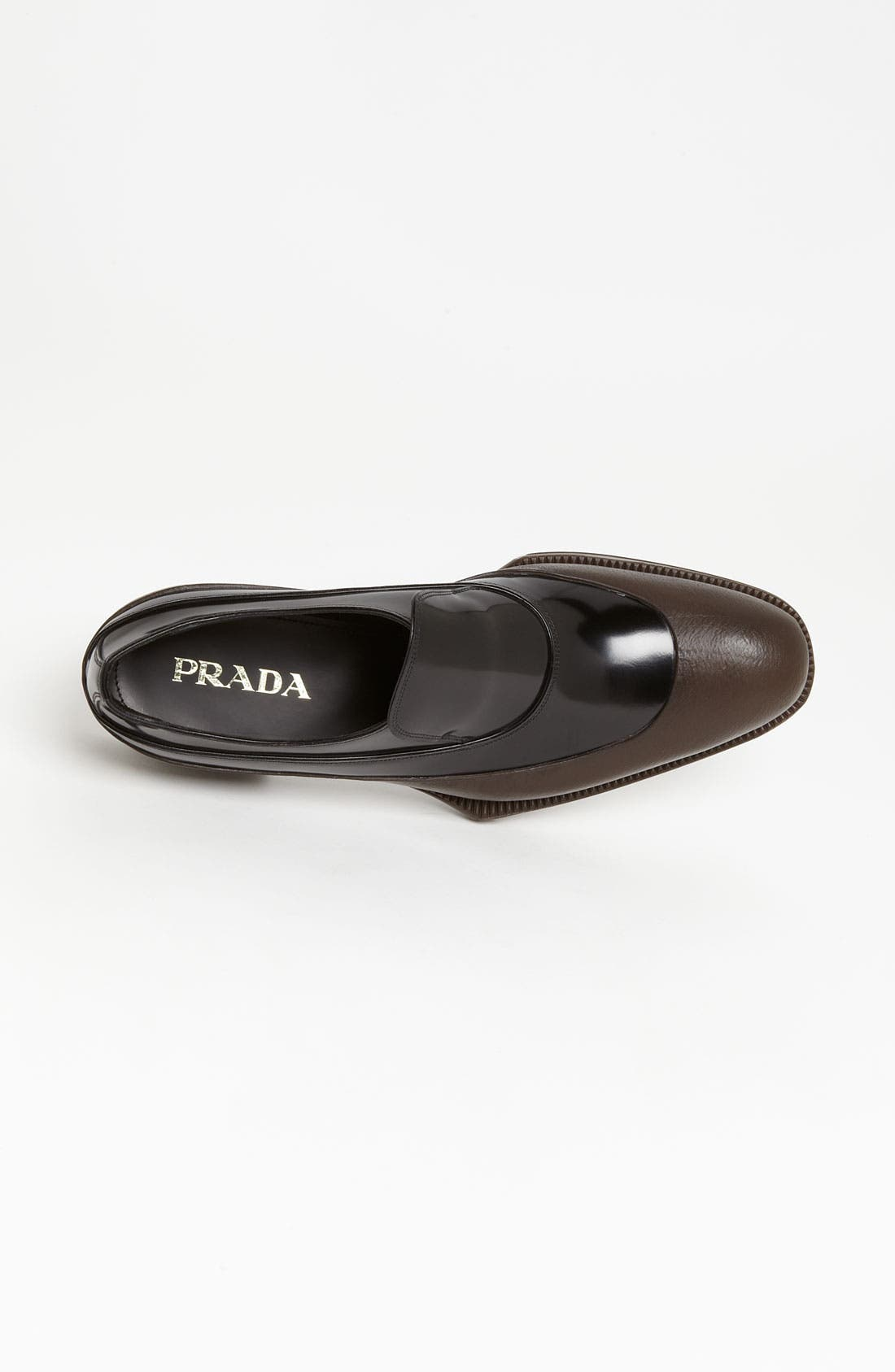 Alternate Image 3  - Prada Rubber Tipped Loafer