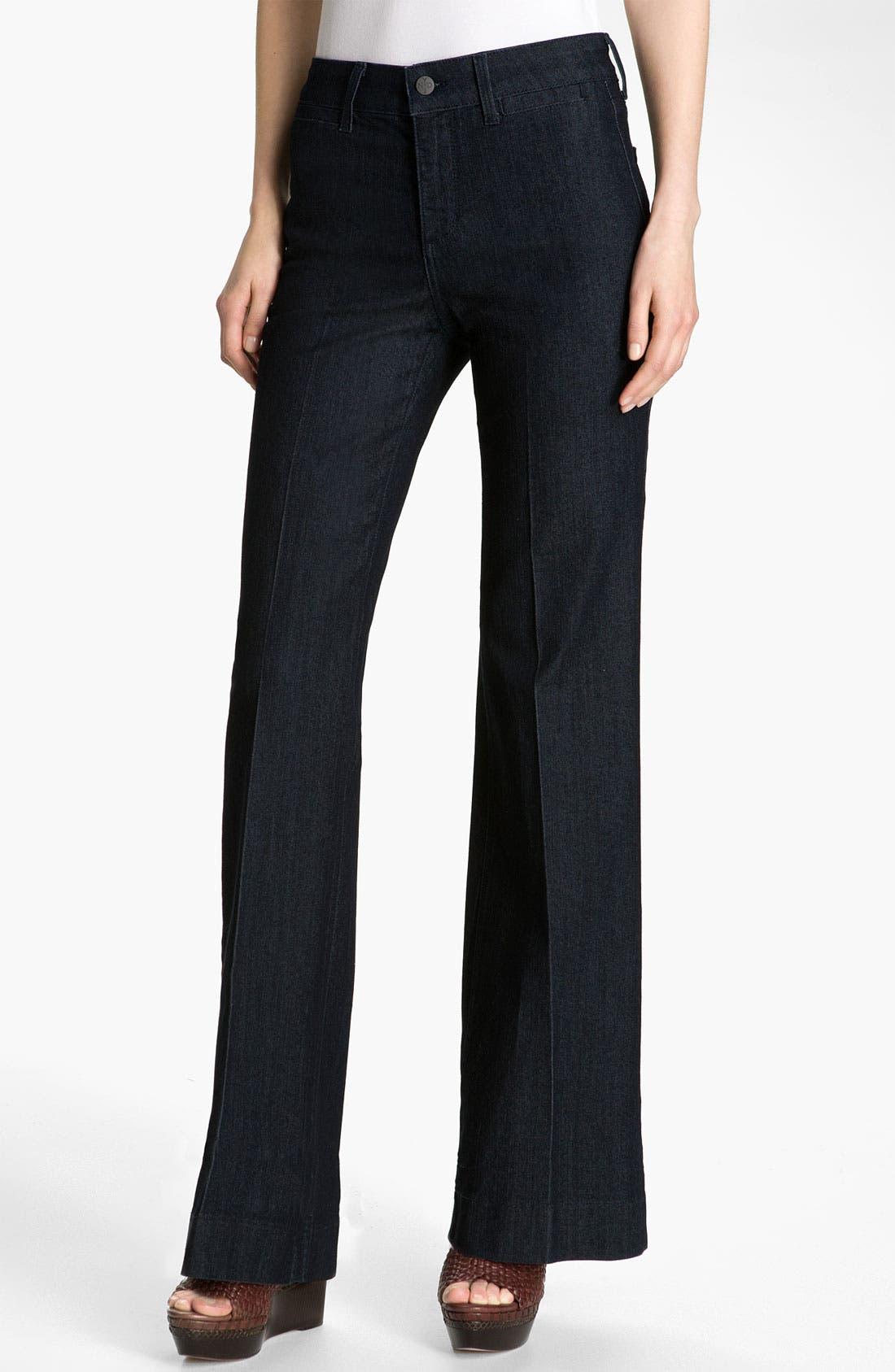 Alternate Image 1 Selected - NYDJ 'Greta' Trouser Jeans (Petite)
