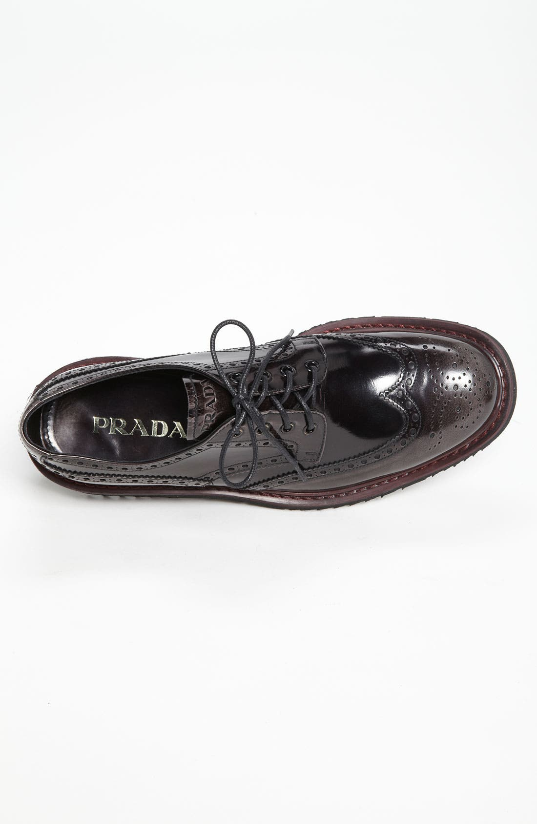 Alternate Image 3  - Prada Double Sole Wingtip