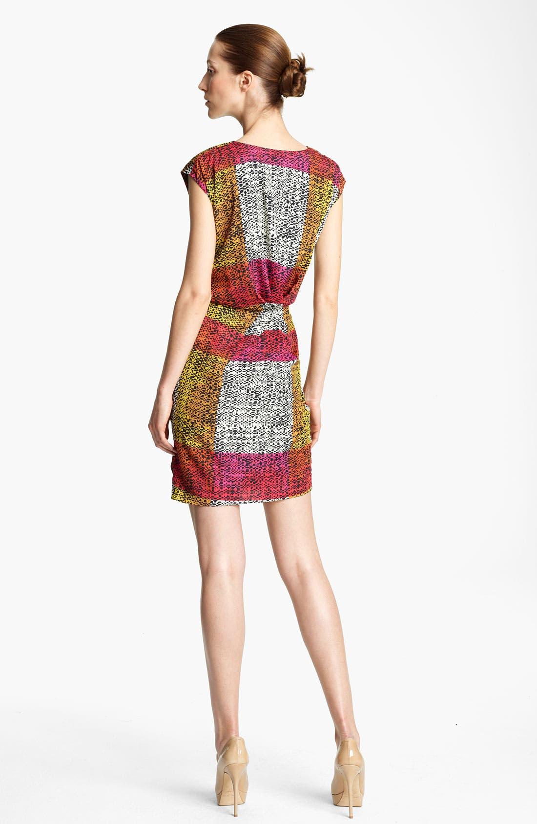 Alternate Image 2  - Thakoon Print Faux Wrap Dress