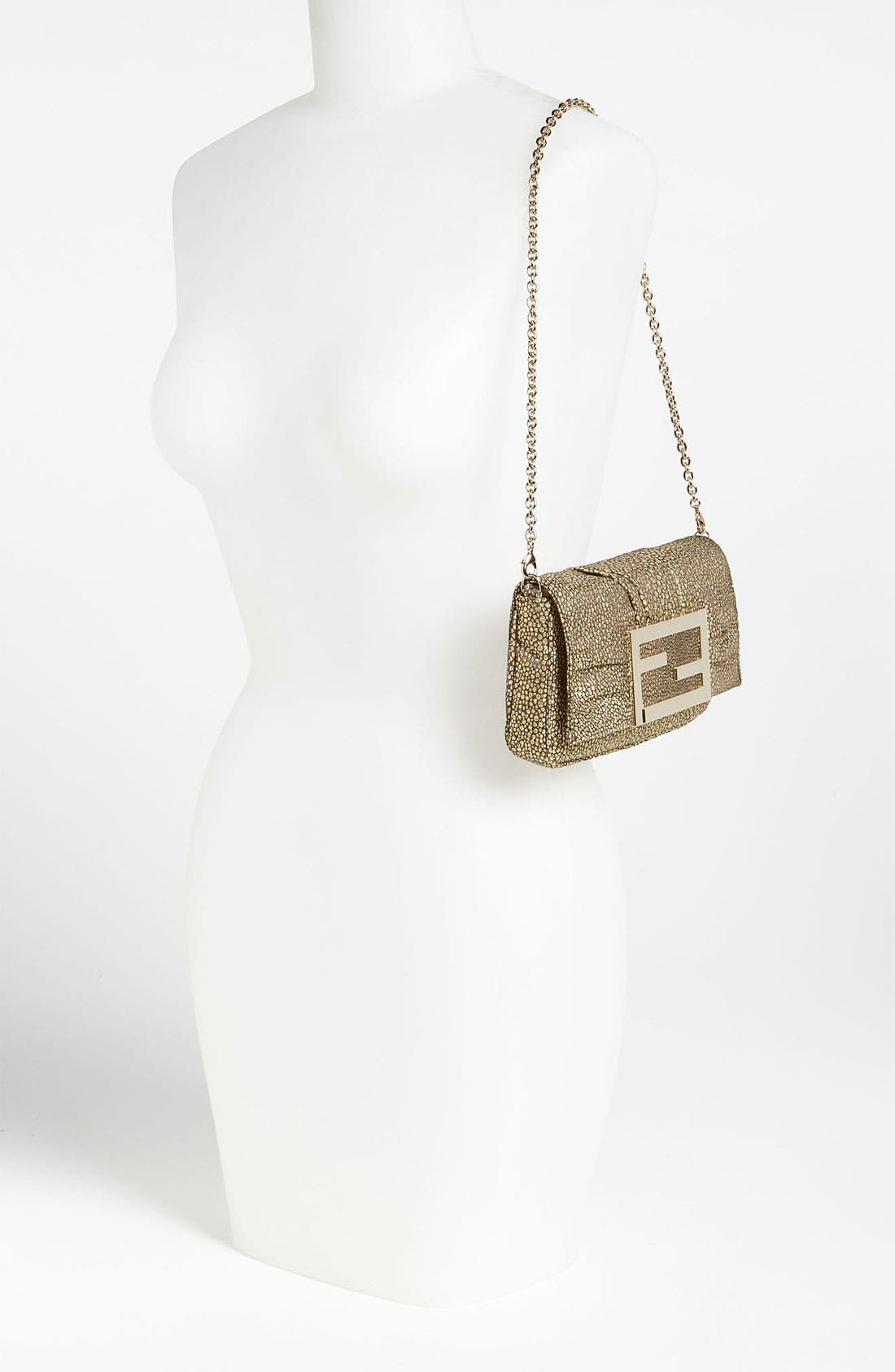 Alternate Image 2  - Fendi 'Mia' Fabric Evening Bag