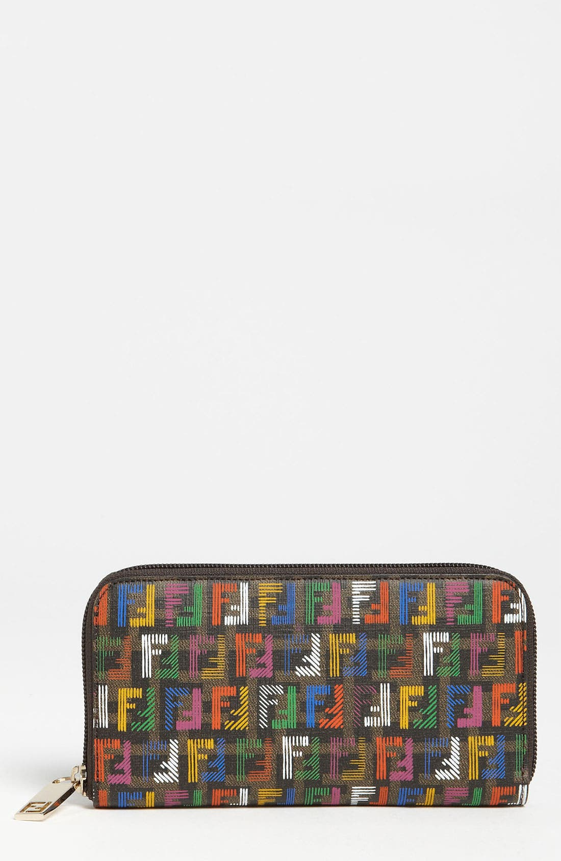 Alternate Image 1 Selected - Fendi 'Forever - Techno Zucca' Continental Wallet