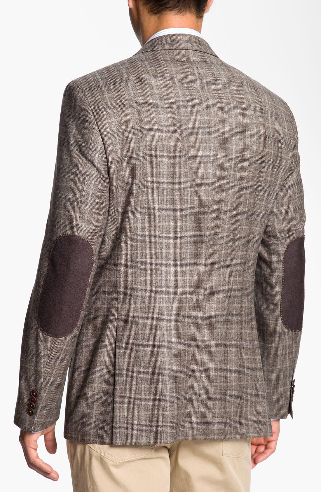 Alternate Image 2  - BOSS Black 'Smith' Trim Fit Plaid Sportcoat