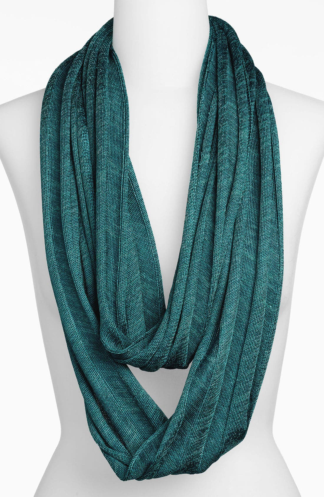Alternate Image 1 Selected - Halogen® Wide Rib Knit Infinity Scarf