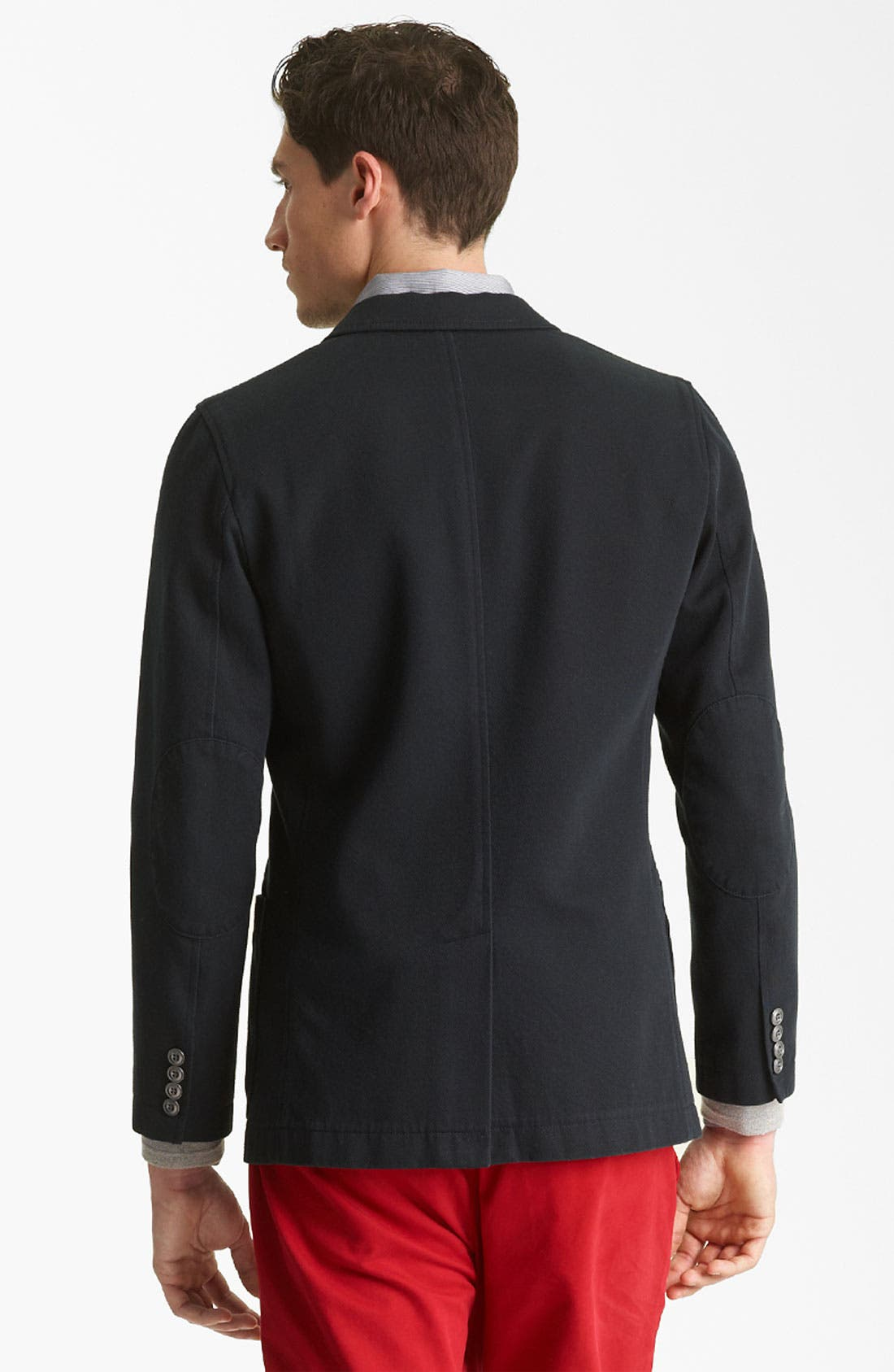 Alternate Image 2  - Jack Spade 'Sanborn' Twill Cotton Blazer