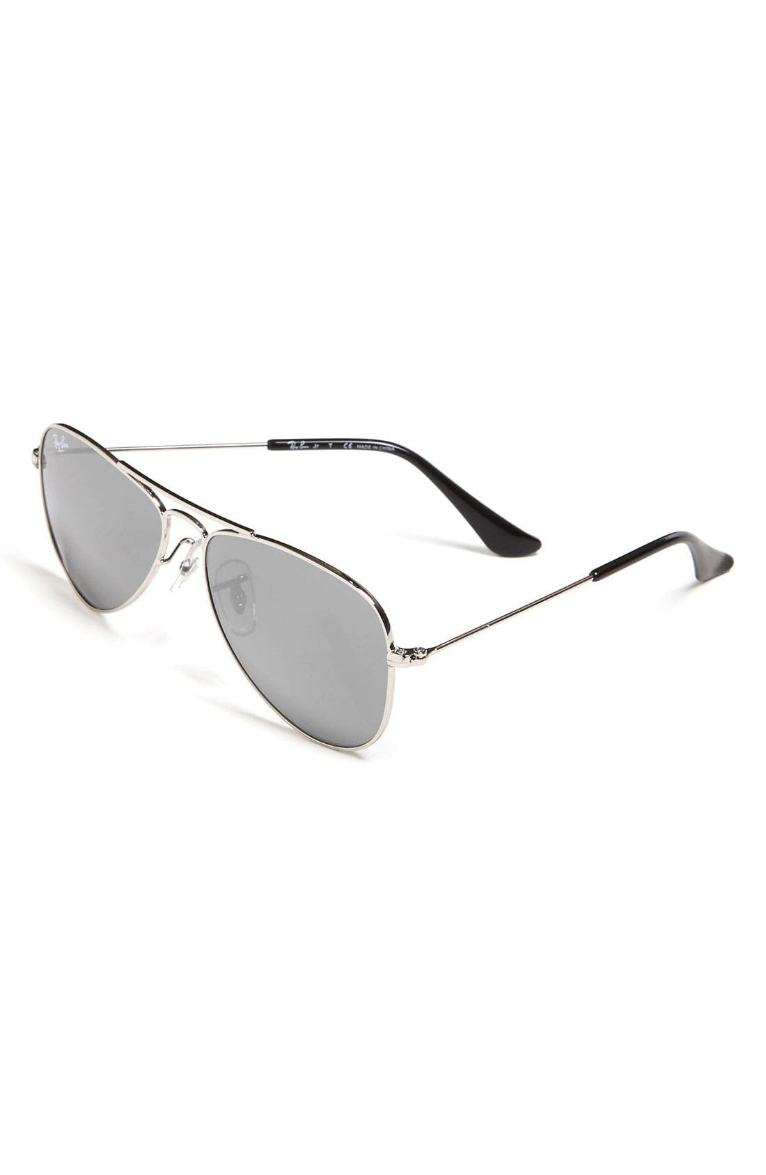 Alternate Image 1 Selected - Ray-Ban Aviator 50mm Sunglasses (Big Boys)