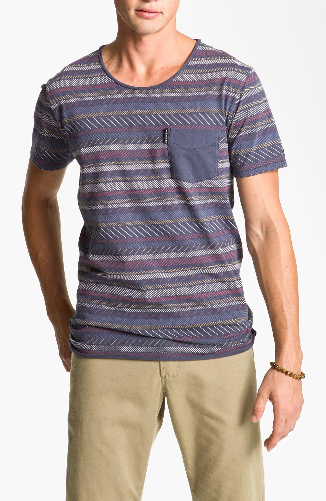 Alternate Image 1 Selected - Zanerobe Stripe T-Shirt