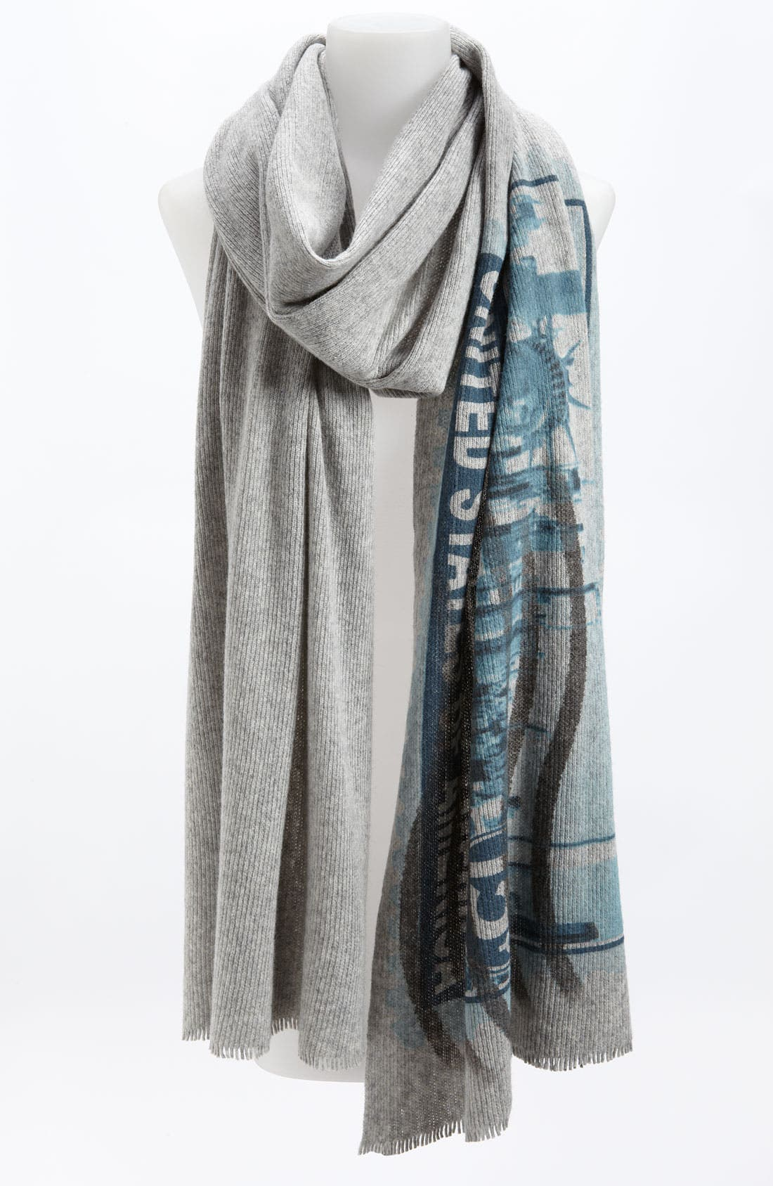 Alternate Image 1 Selected - Tarnish 'Lady Liberty' Scarf