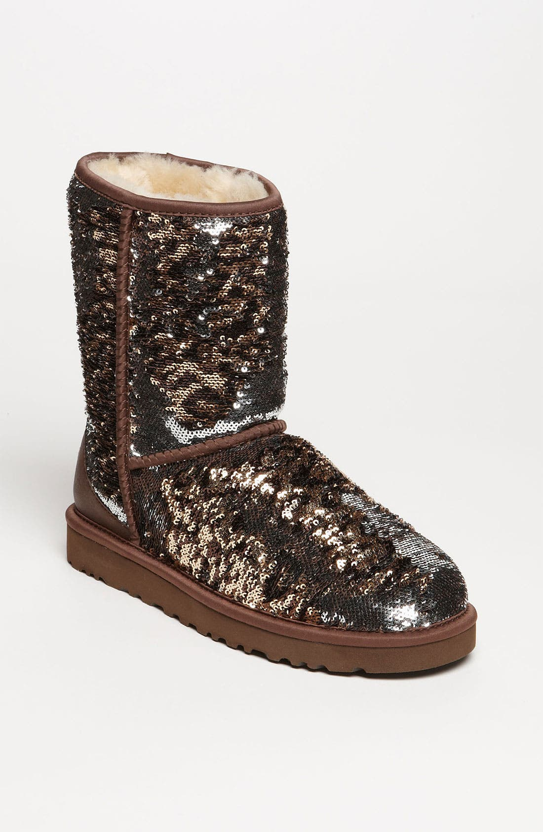 Alternate Image 1 Selected - UGG® Australia 'Classic Short Sparkle' Boot (Women)