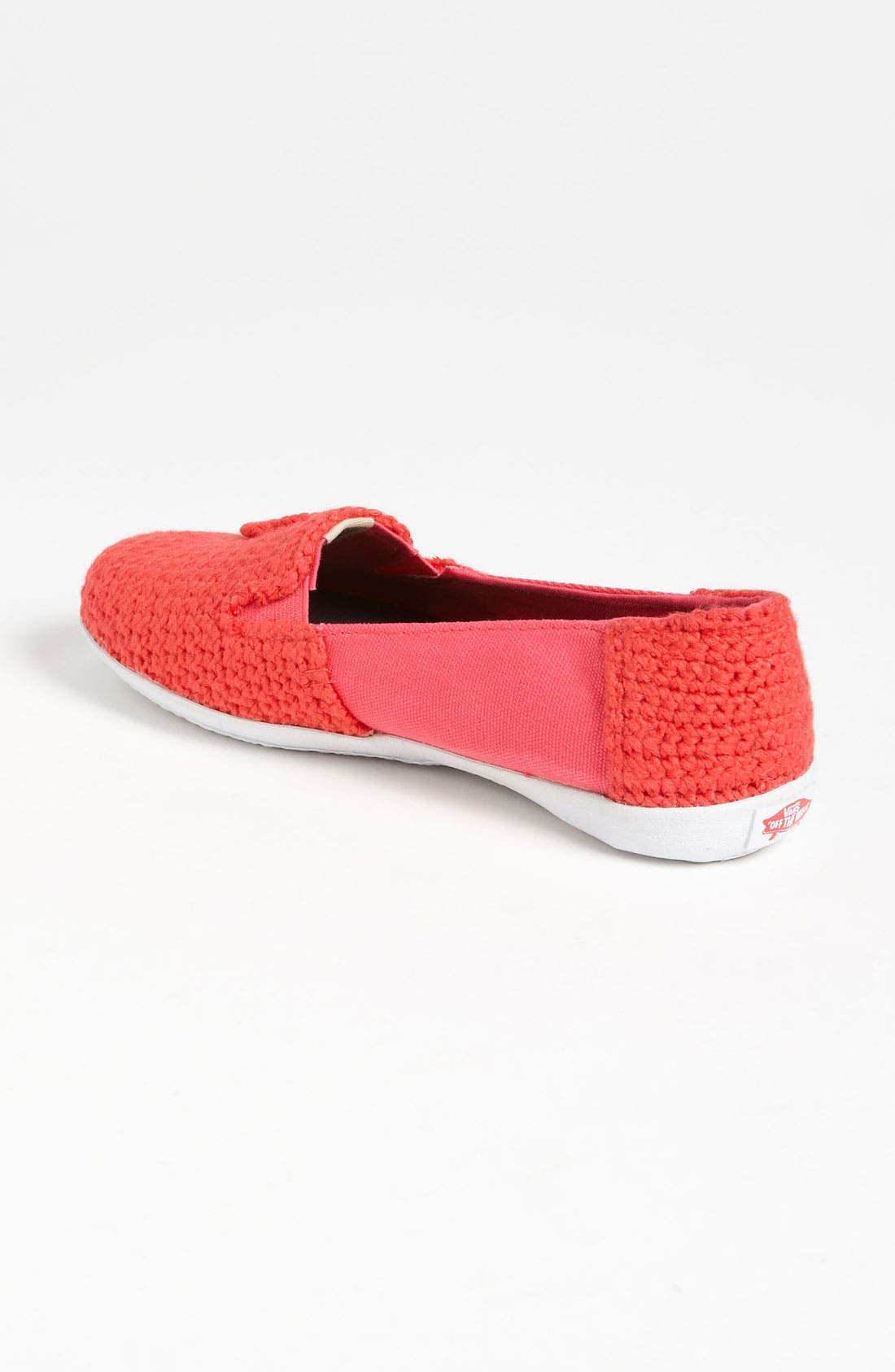 Alternate Image 2  - Vans + Krochet Kids 'Bixie' Crochet Slip-On