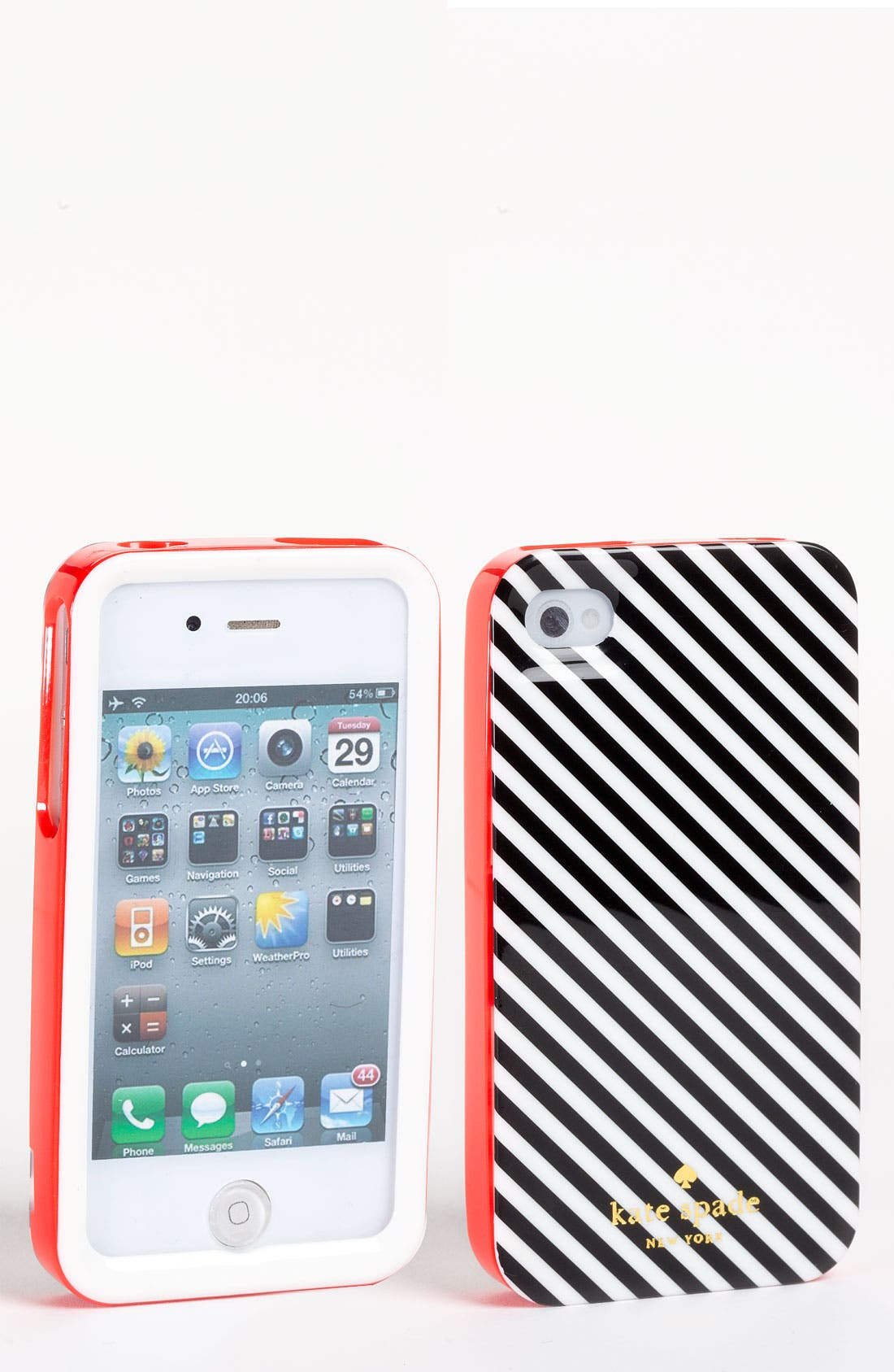 Alternate Image 1 Selected - kate spade new york hard shell iPhone 4 & 4S case