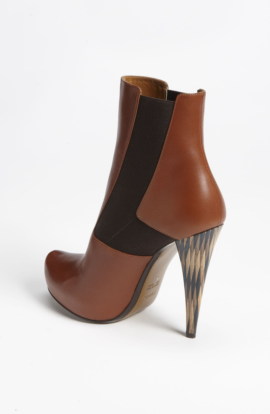 Alternate Image 2  - Fendi 'Wuthering Heights' Gored Short Boot