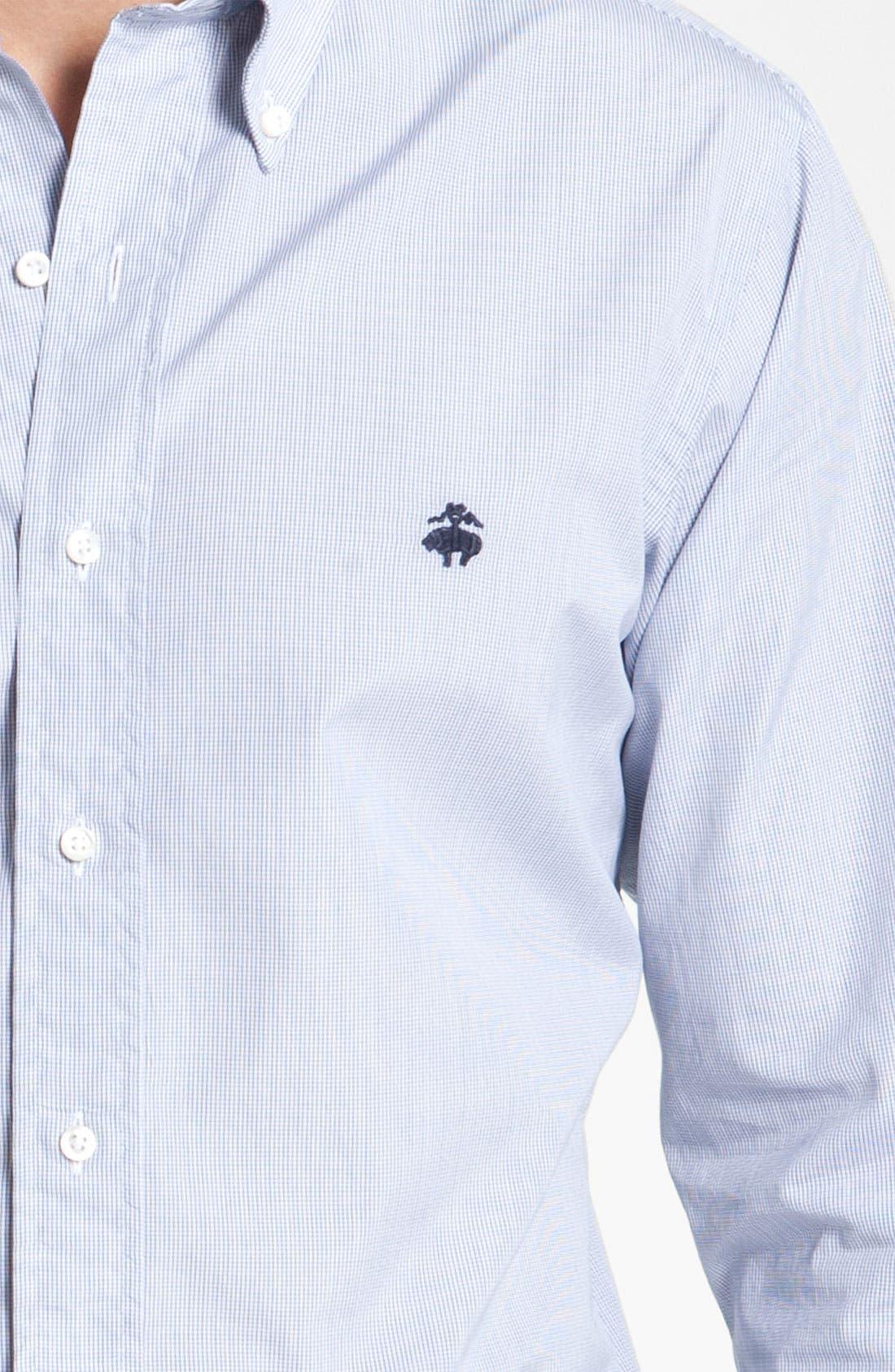 Alternate Image 3  - Brooks Brothers by Jeffrey Tattersall Woven Shirt