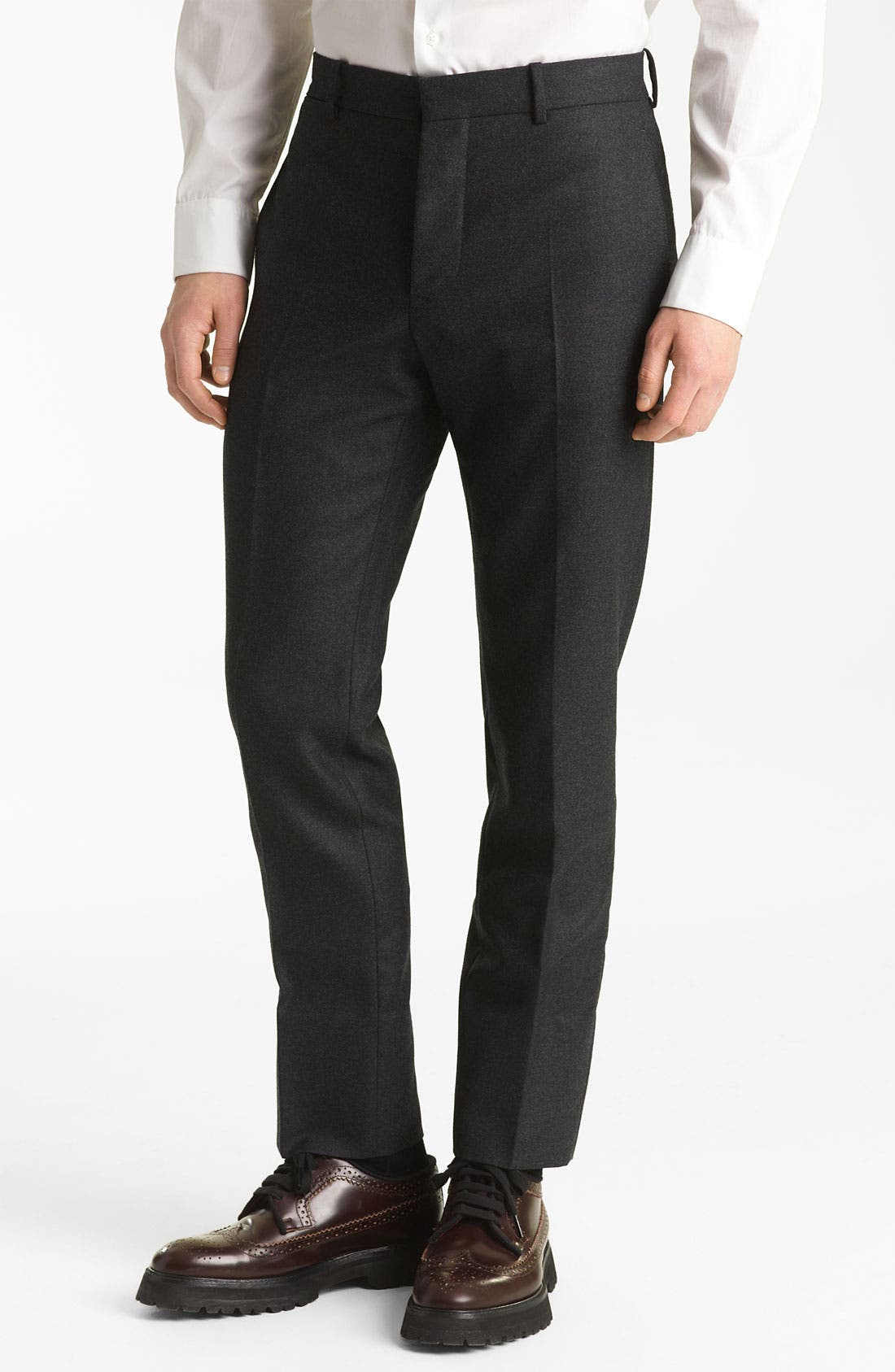 Alternate Image 1 Selected - Marni Twisted Wool Trousers