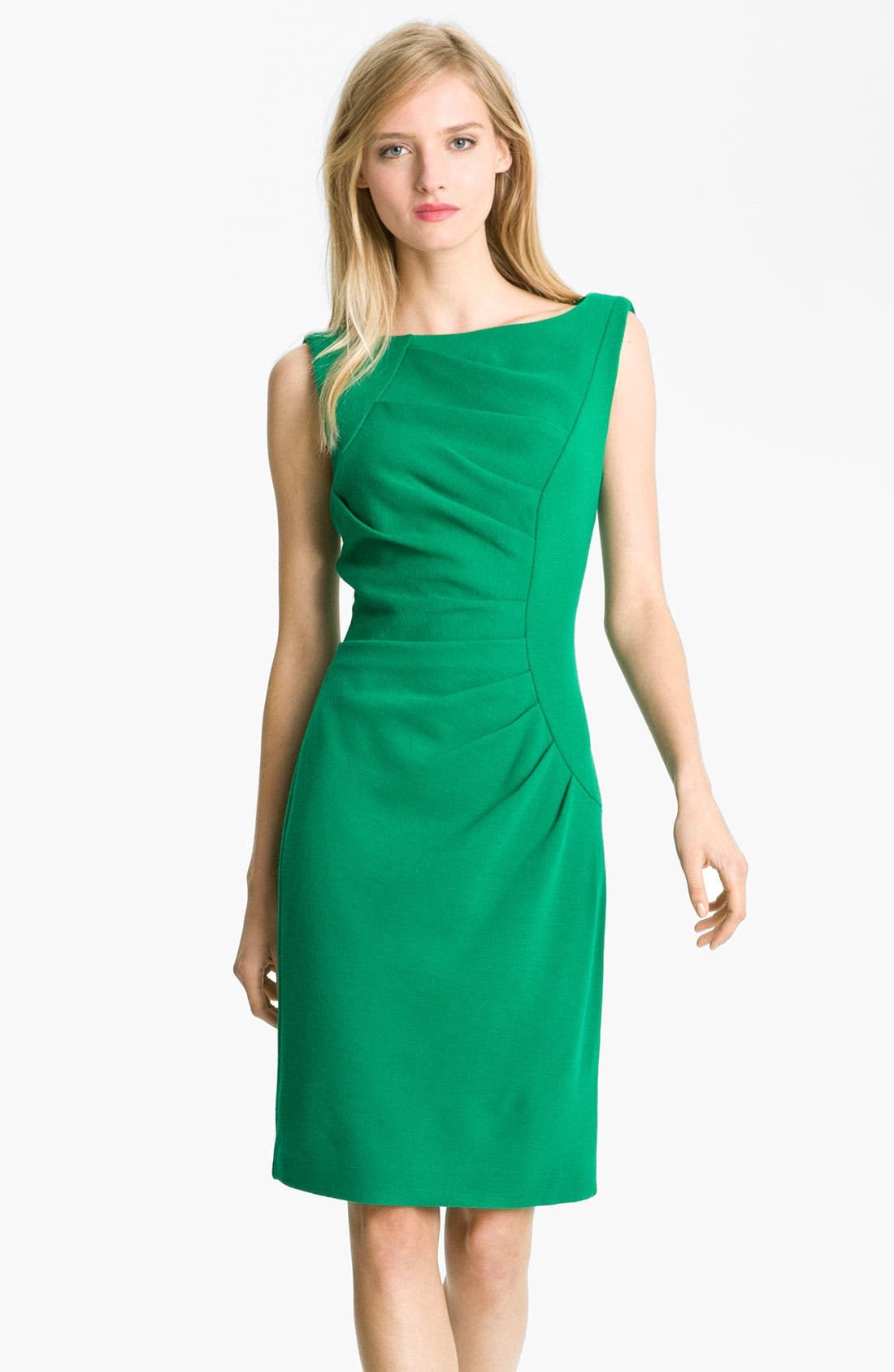 Alternate Image 1 Selected - Milly 'Tucked' Sheath Dress