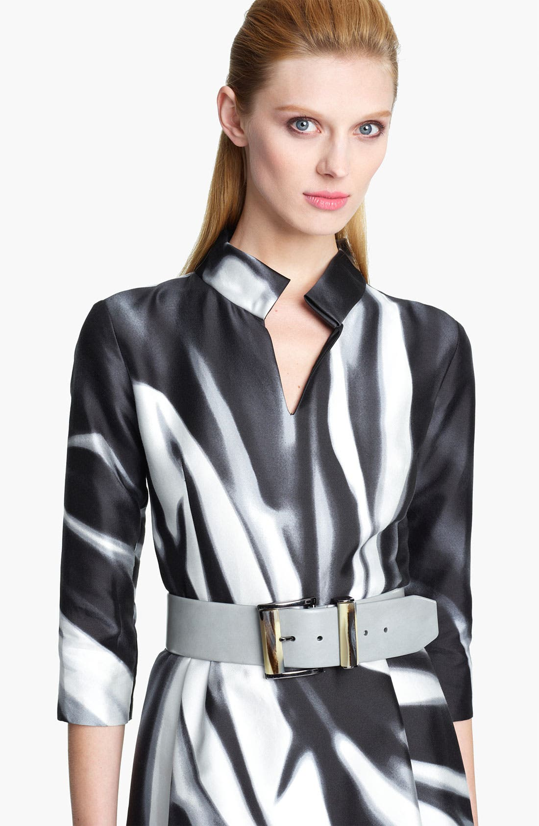 Main Image - Oscar de la Renta Wide Leather Belt