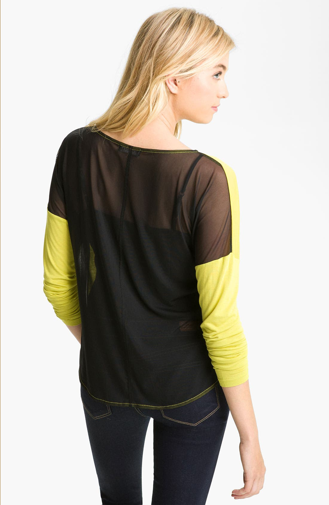 Alternate Image 2  - Trouvé Sheer Back Tee