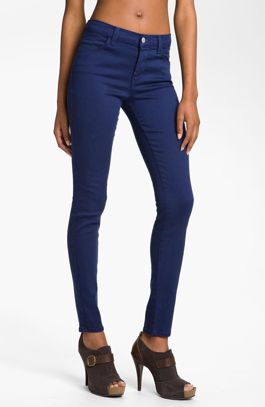 Alternate Image 1 Selected - J Brand Overdyed Skinny Leg Jeans