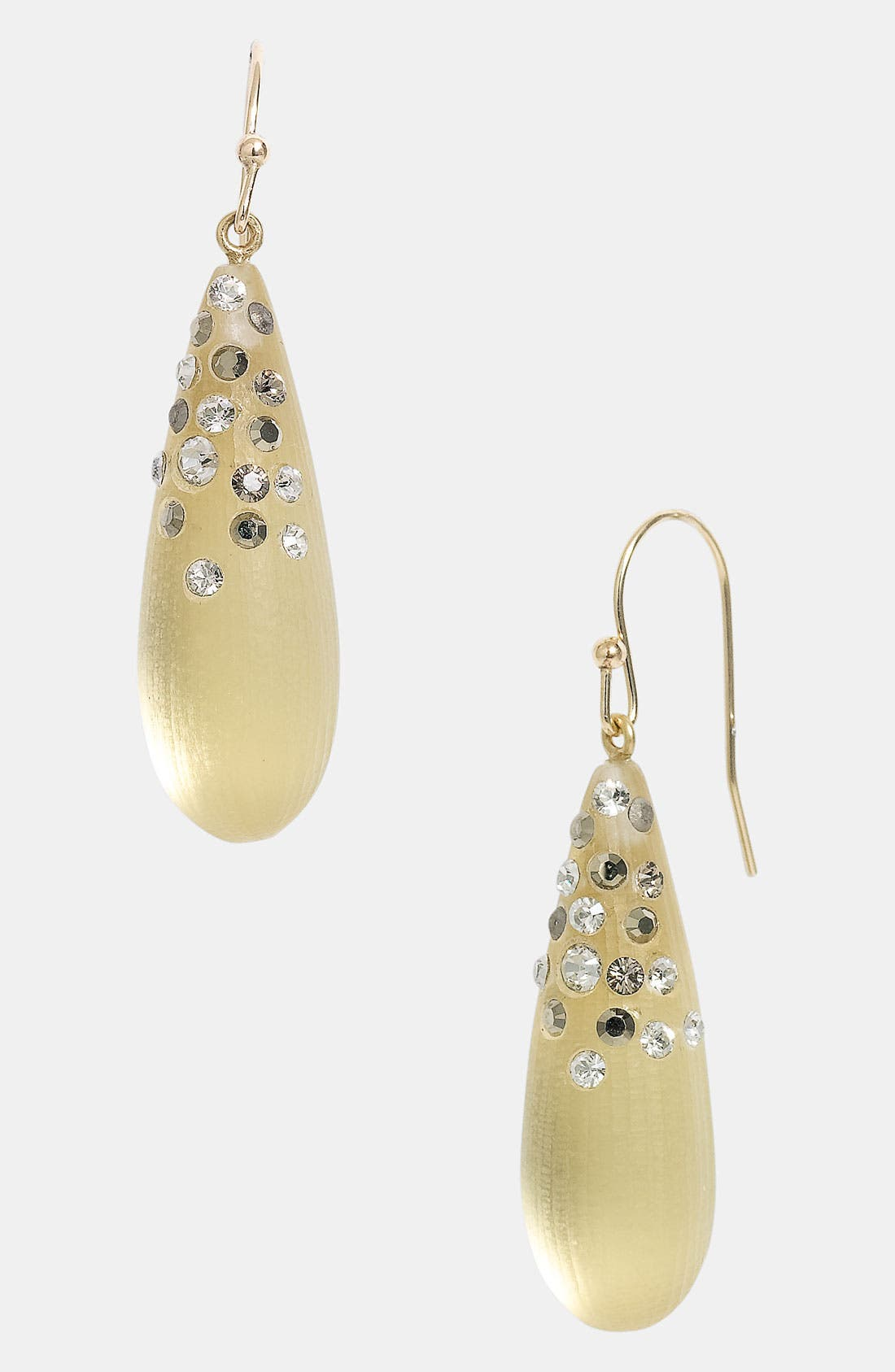 Main Image - Alexis Bittar 'Lucite® - Dust' Long Raindrop Earrings (Nordstrom Exclusive)